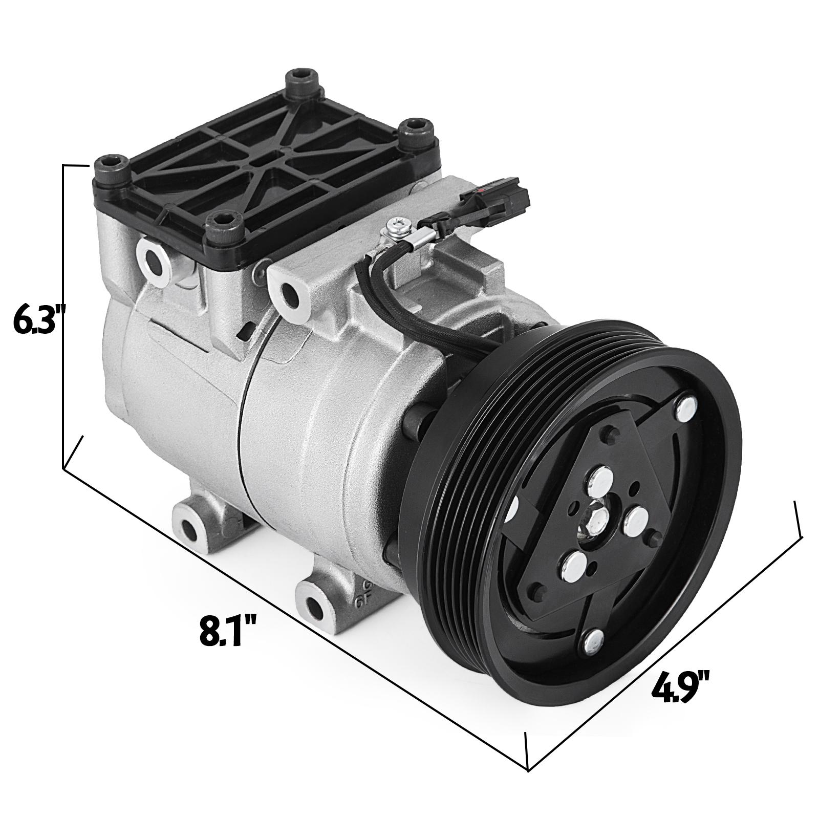 AC A//C Compressor for Hyundai Tiburon 2003-2006 2007 2008 2.7L 58199 CO 10922C