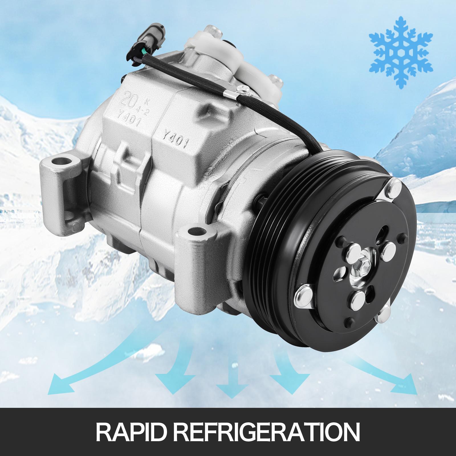 A/C Compressor For GMC Yukon XL 1500 5.3L Fit Chevrolet