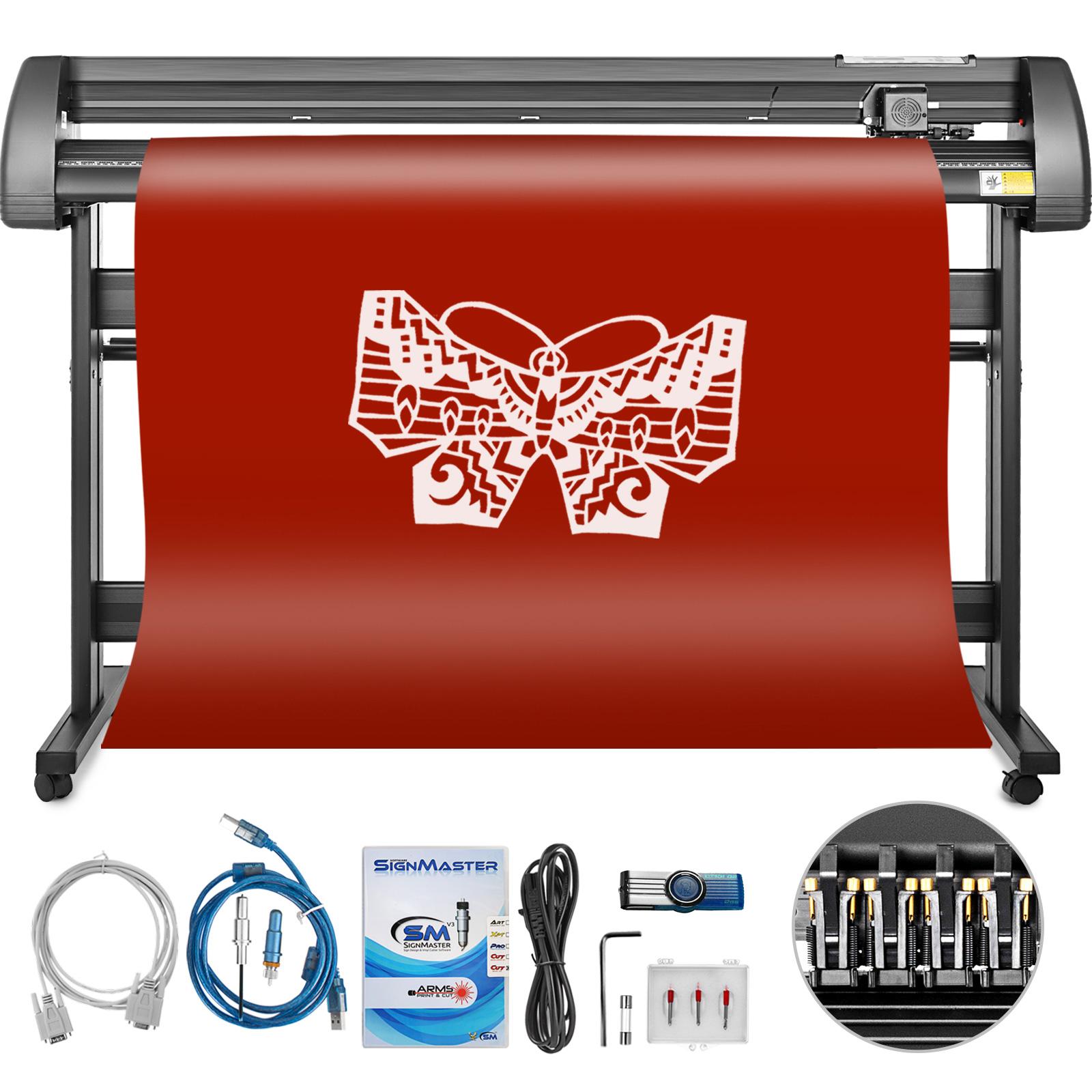 8da972458e Vinile Plotter da Taglio 135cm Creazione di adesivi Stampa 3 lame ...
