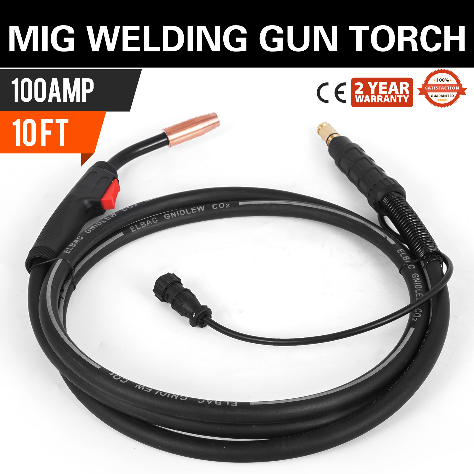 10/' Replacement for Magnum 100L Mig Welding Gun Torch Stinger Lincoln K530-6