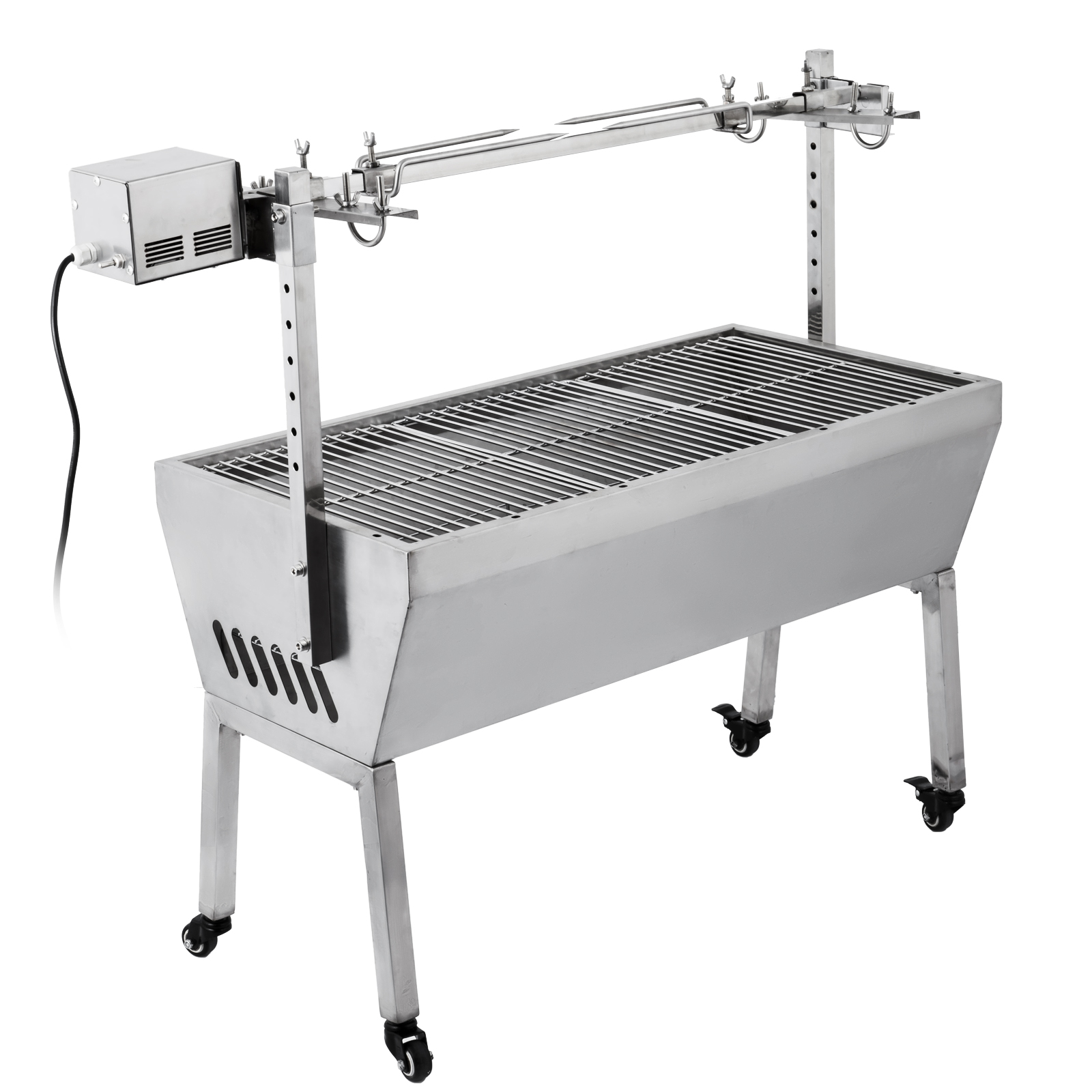 Pig rotisserie lamb roaster roast machine spit skewer bbq for Bbq spit motors electric