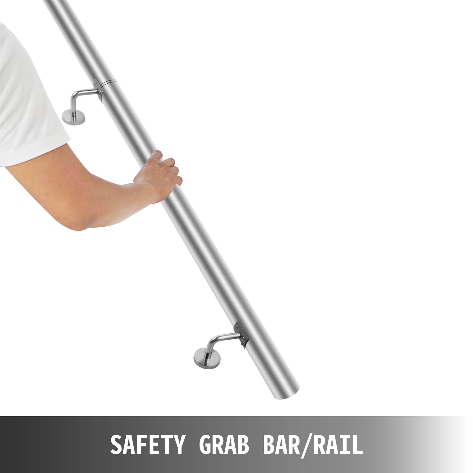 Stair-Handrail-Stair-Rail-3-10ft-Stainless-Steel-Handrail-for-Stairs-200lbs-Load thumbnail 86
