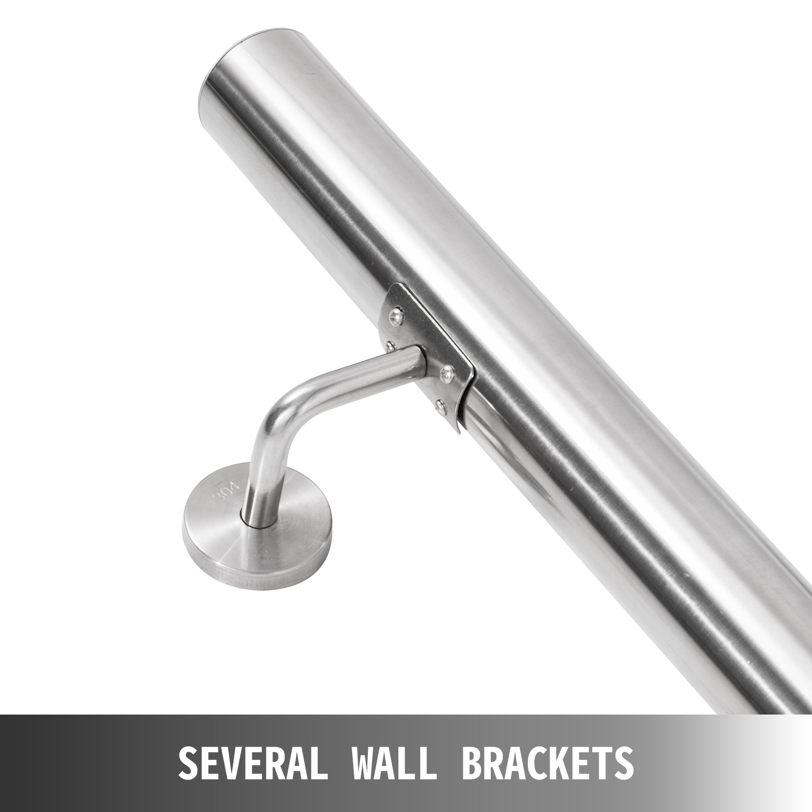 Stair-Handrail-Stair-Rail-3-10ft-Stainless-Steel-Handrail-for-Stairs-200lbs-Load thumbnail 87