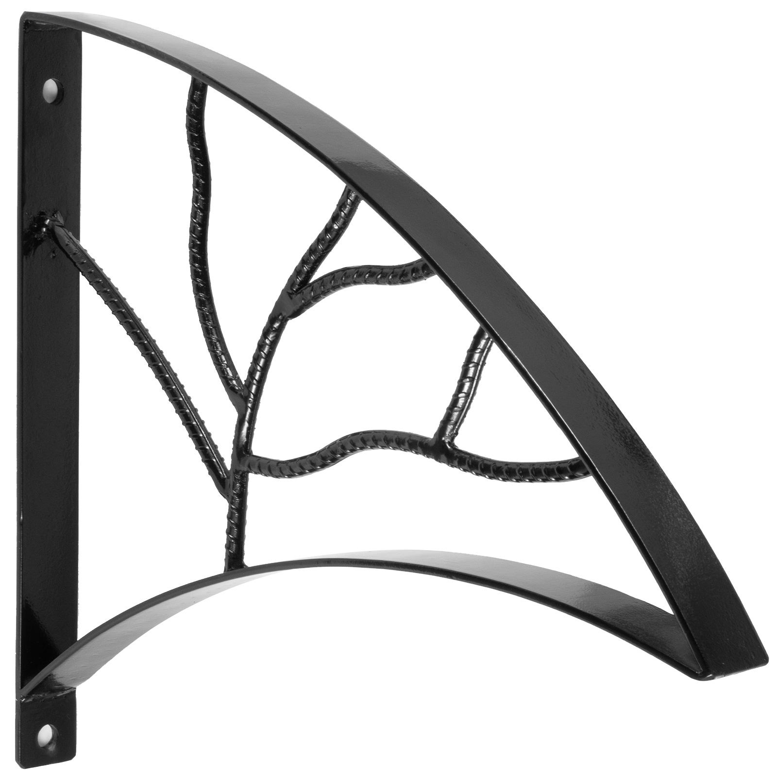 Handrails-for-Outdoor-Step-Wrought-Iron-Handrail-20-034-Length-Porch-Deck-Railing thumbnail 48