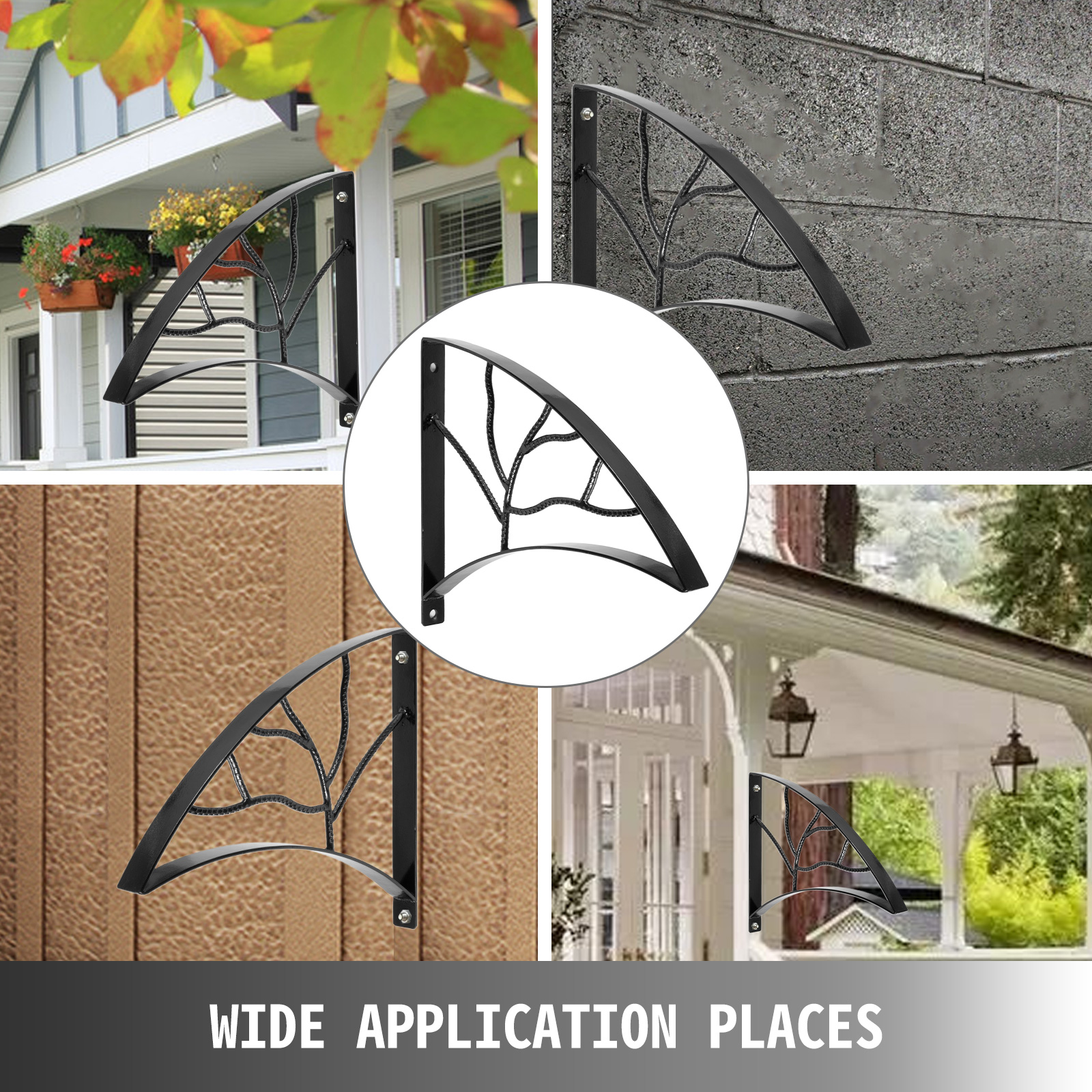 Handrails-for-Outdoor-Step-Wrought-Iron-Handrail-20-034-Length-Porch-Deck-Railing thumbnail 43