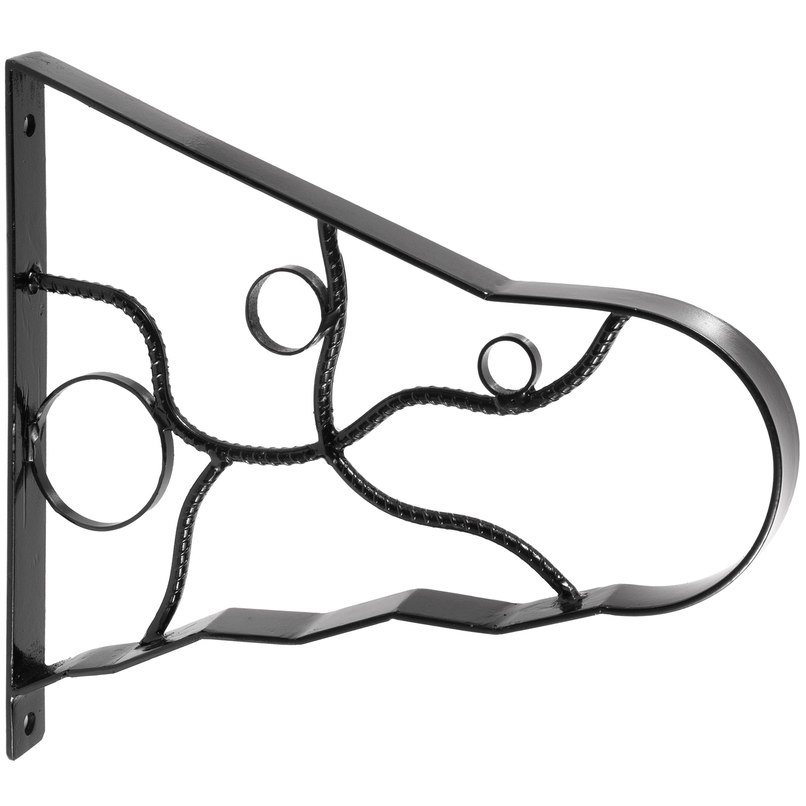 Handrails-for-Outdoor-Step-Wrought-Iron-Handrail-20-034-Length-Porch-Deck-Railing thumbnail 72