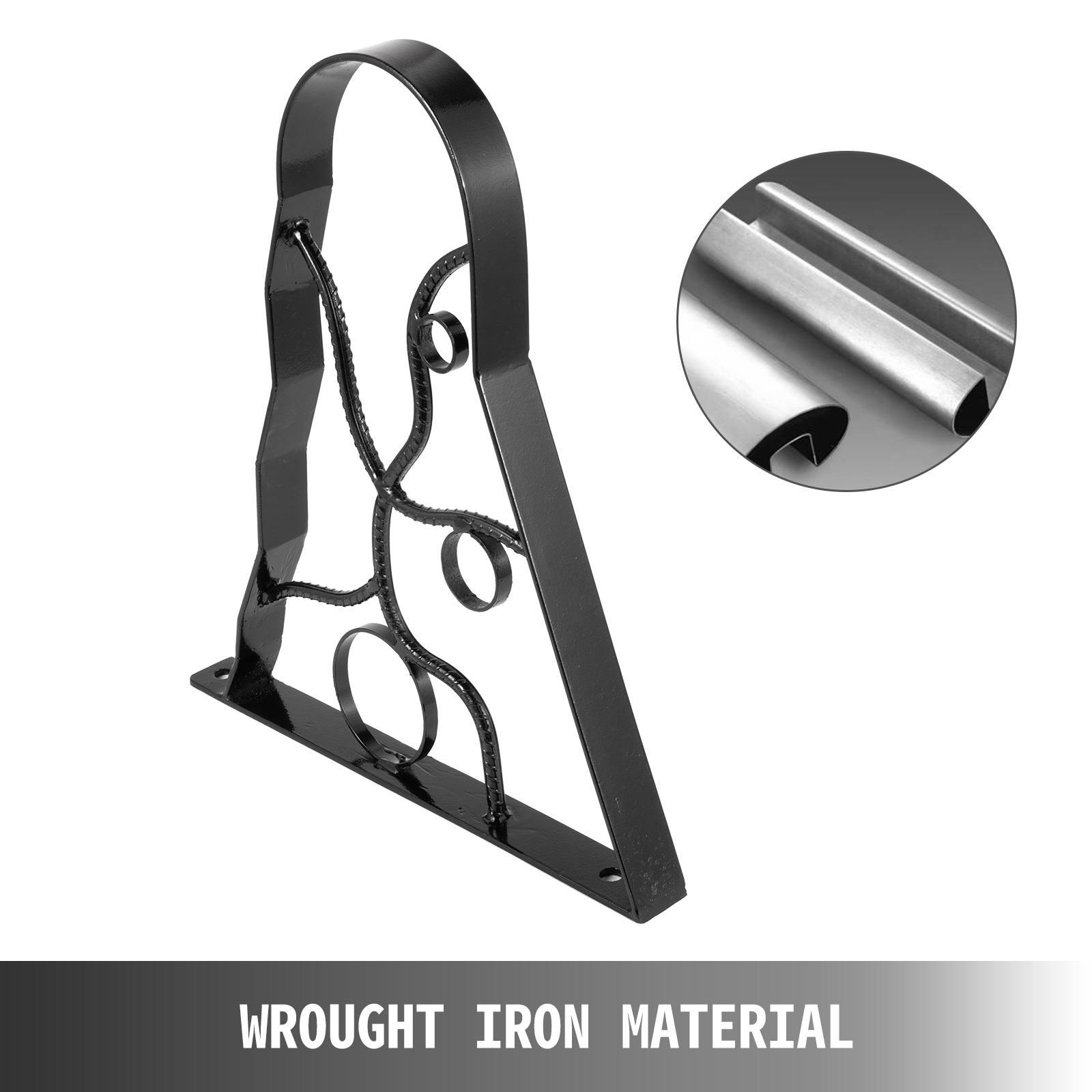 Handrails-for-Outdoor-Step-Wrought-Iron-Handrail-20-034-Length-Porch-Deck-Railing thumbnail 62