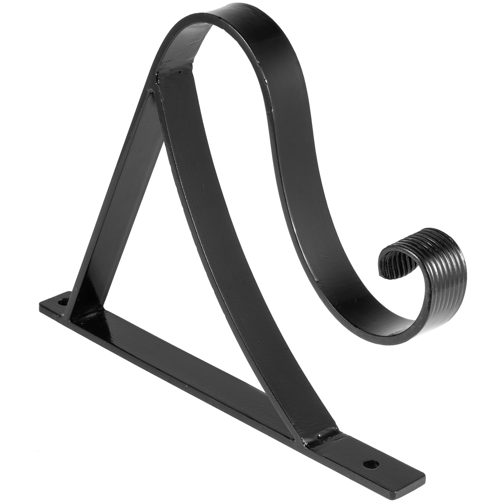 Handrails-for-Outdoor-Step-Wrought-Iron-Handrail-20-034-Length-Porch-Deck-Railing thumbnail 107