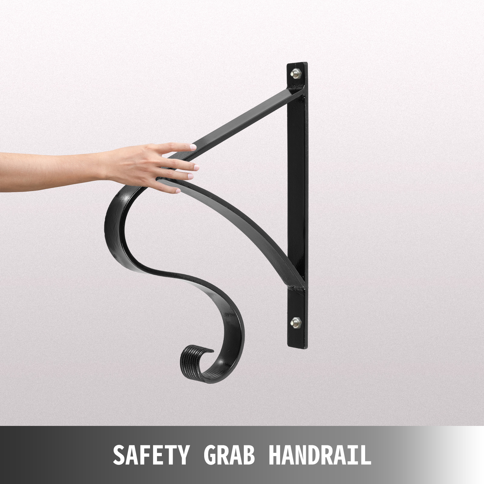 Handrails-for-Outdoor-Step-Wrought-Iron-Handrail-20-034-Length-Porch-Deck-Railing thumbnail 100