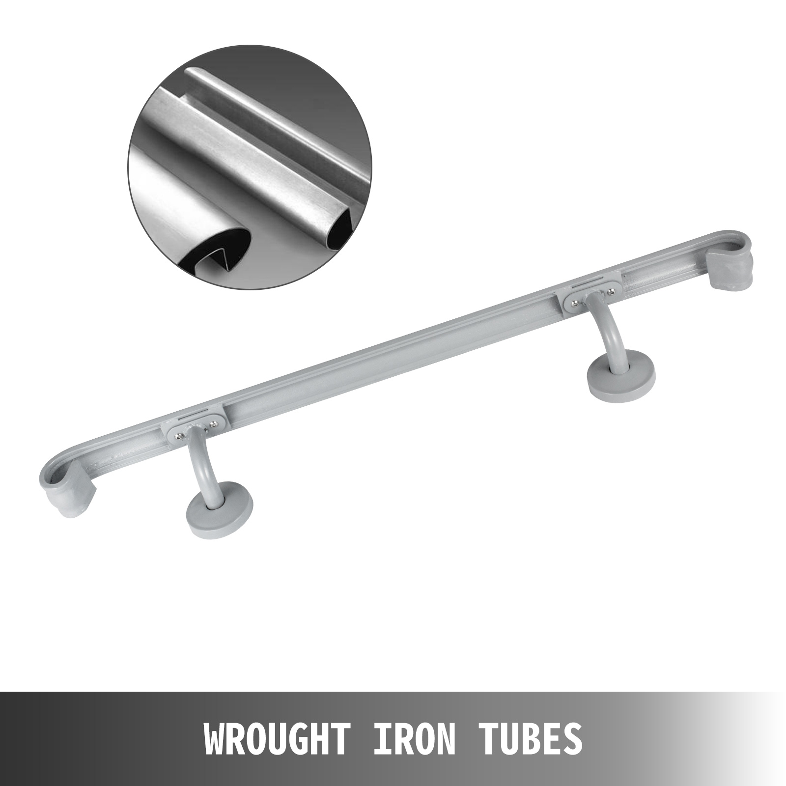 Stair-Handrail-Stair-Rail-2ft-5ft-Two-Five-Step-Handrail-for-Stairs-Wrought-Iron thumbnail 62