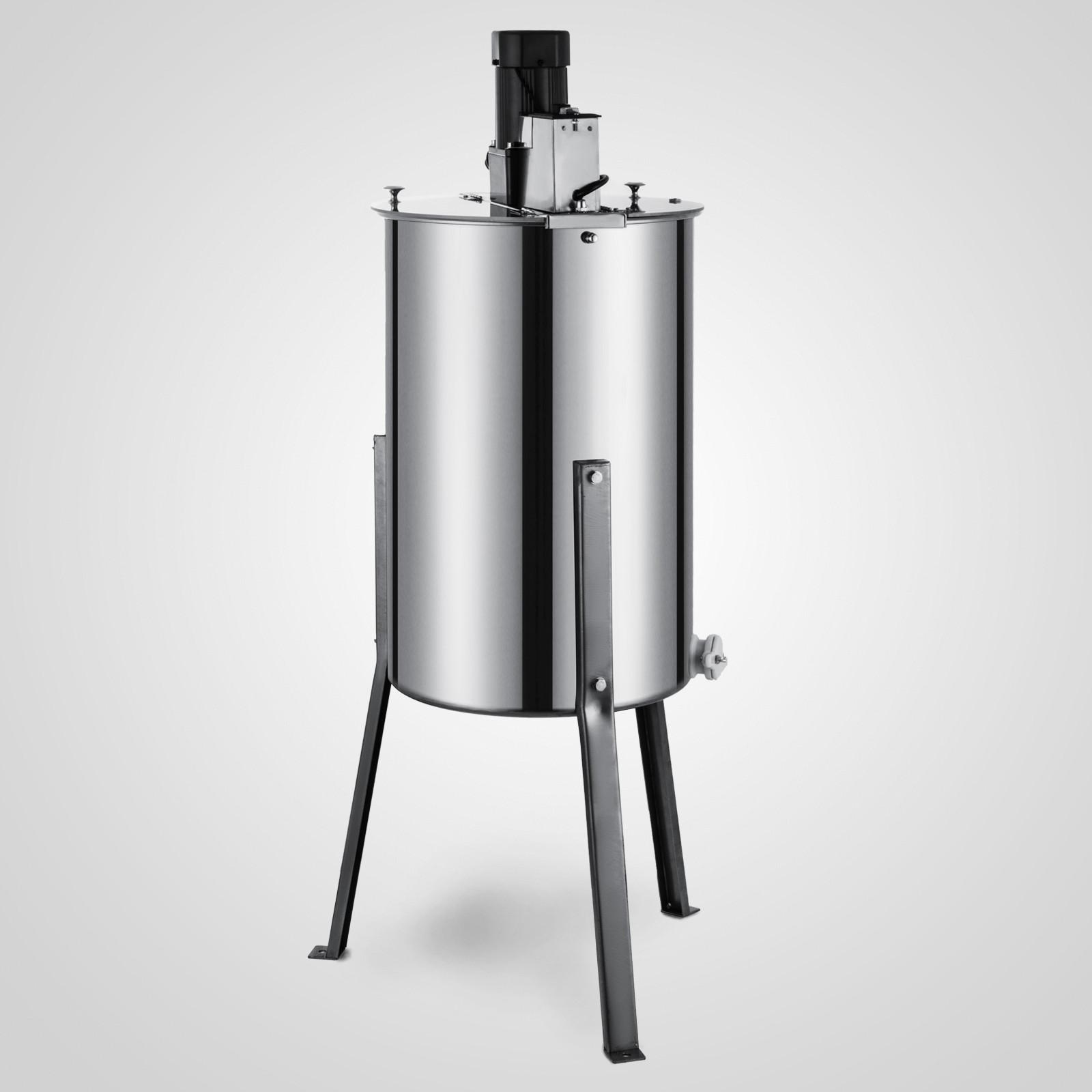 Extracteur-de-Miel-Electrique-manuelle-2-3-4-Cadres-En-Acier-Inox-Centrifugeuse miniature 40