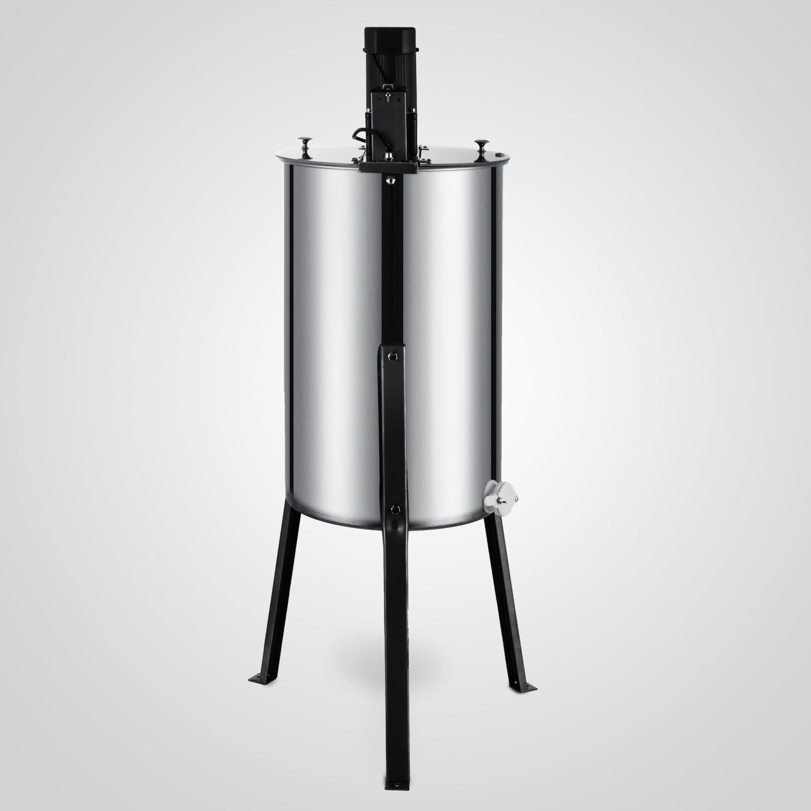 Extracteur-de-Miel-Electrique-manuelle-2-3-4-Cadres-En-Acier-Inox-Centrifugeuse miniature 41