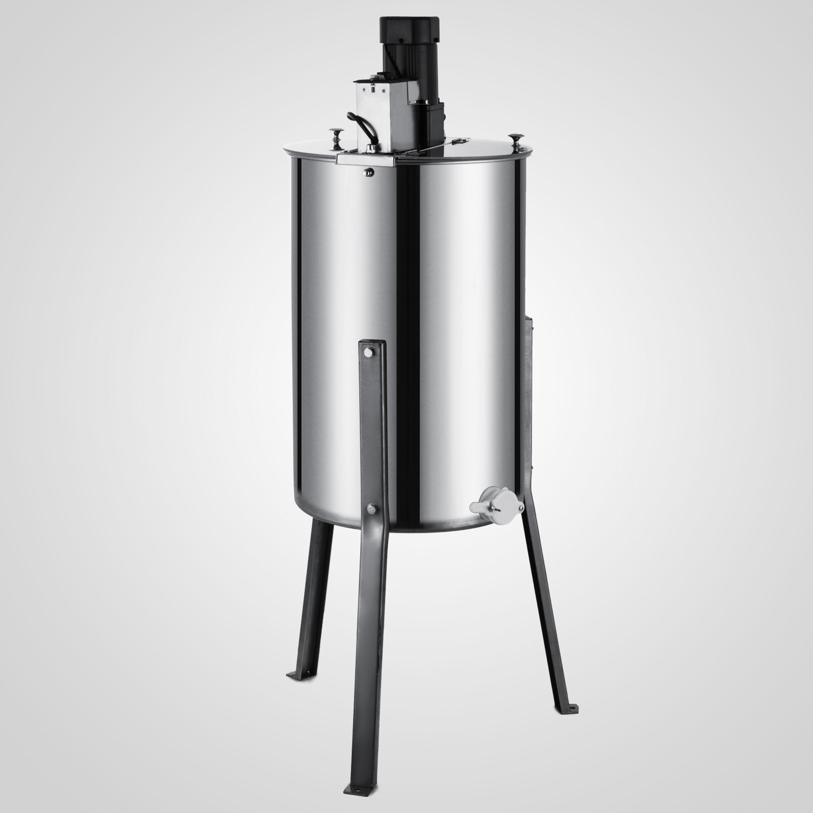 Extracteur-de-Miel-Electrique-manuelle-2-3-4-Cadres-En-Acier-Inox-Centrifugeuse miniature 42