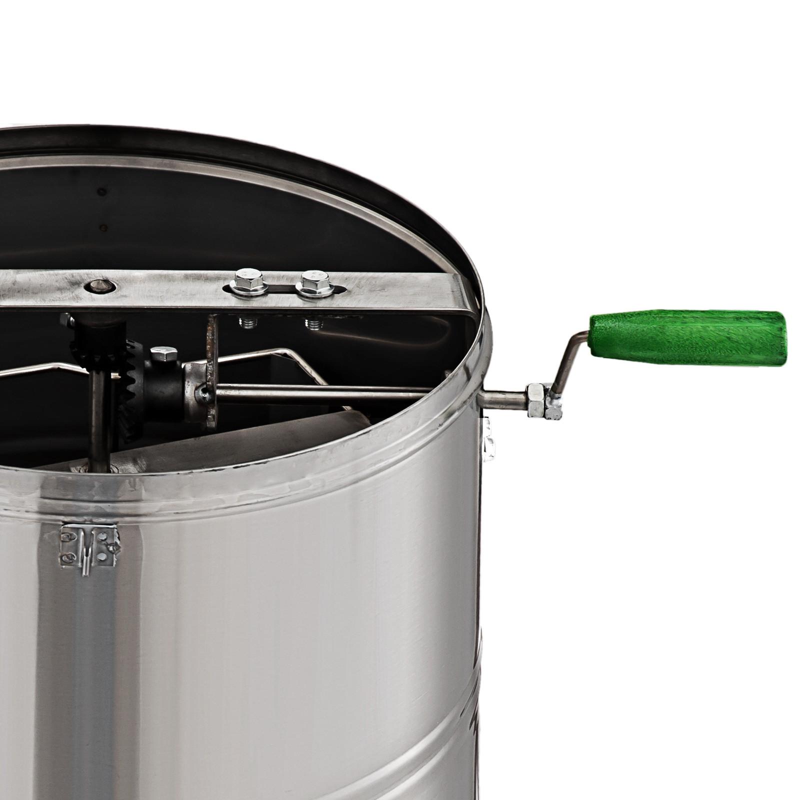 Extracteur-de-Miel-Electrique-manuelle-2-3-4-Cadres-En-Acier-Inox-Centrifugeuse miniature 22