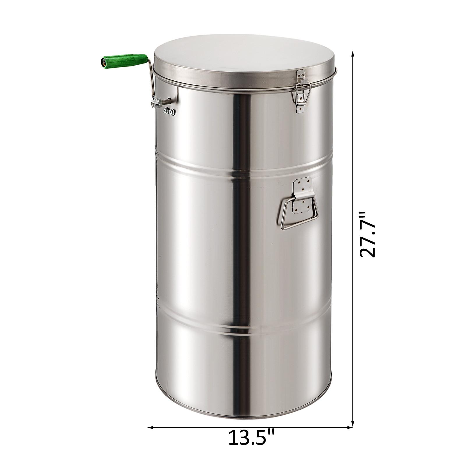Extracteur-de-Miel-Electrique-manuelle-2-3-4-Cadres-En-Acier-Inox-Centrifugeuse miniature 14
