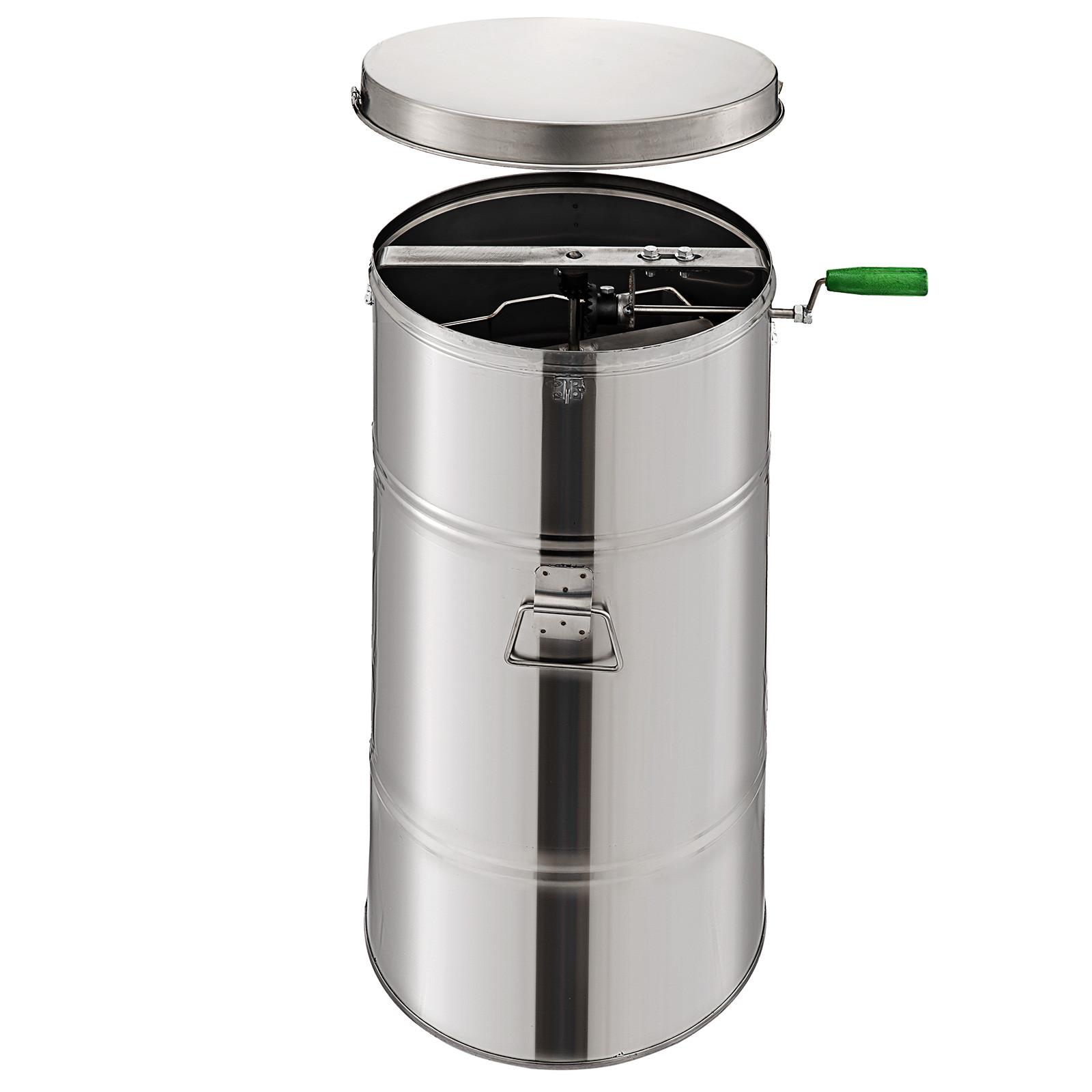 Extracteur-de-Miel-Electrique-manuelle-2-3-4-Cadres-En-Acier-Inox-Centrifugeuse miniature 17