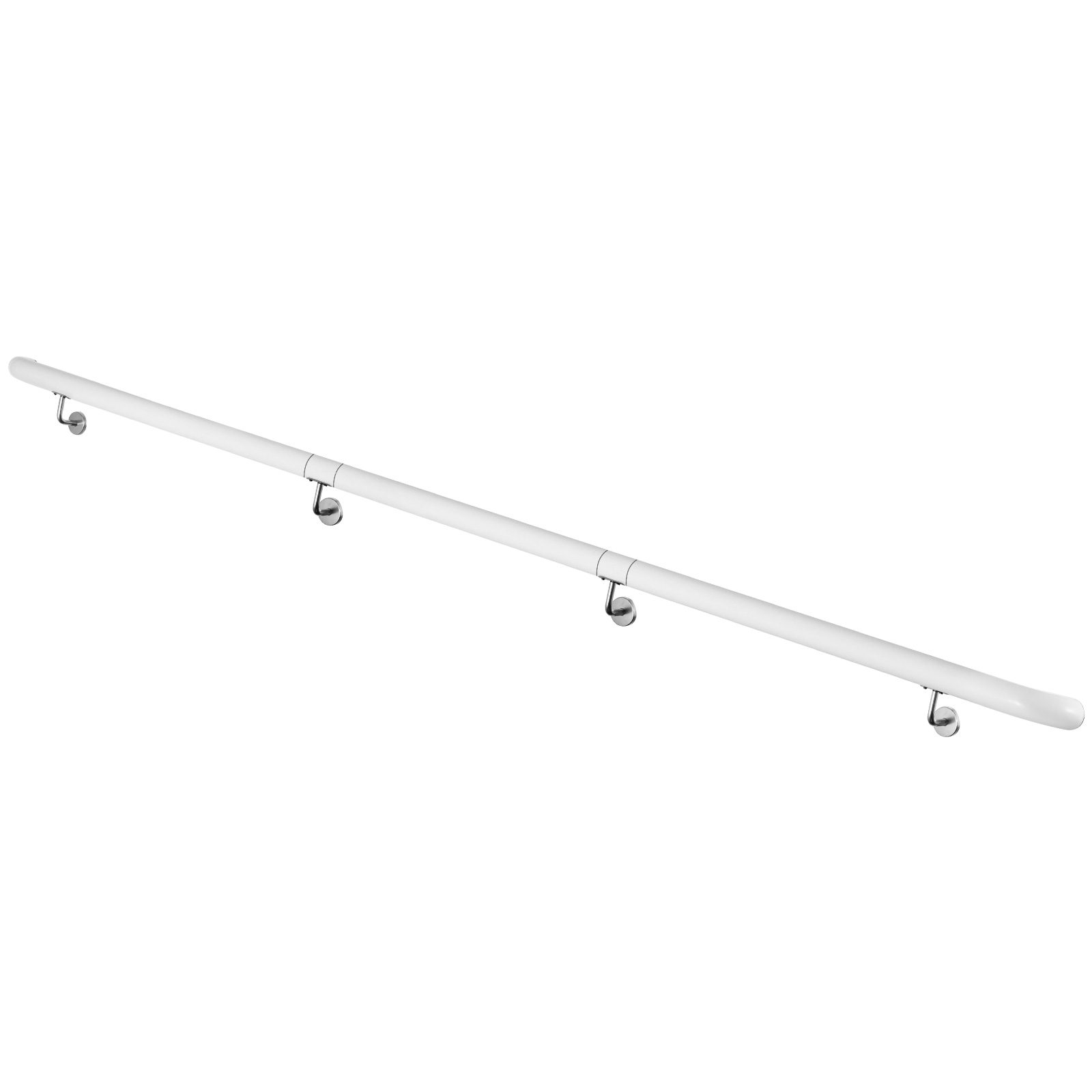 Stair-Handrail-Stair-Rail-Aluminum-Indoor-Handrail-for-Stairs-3-16-039-White-200lbs thumbnail 119