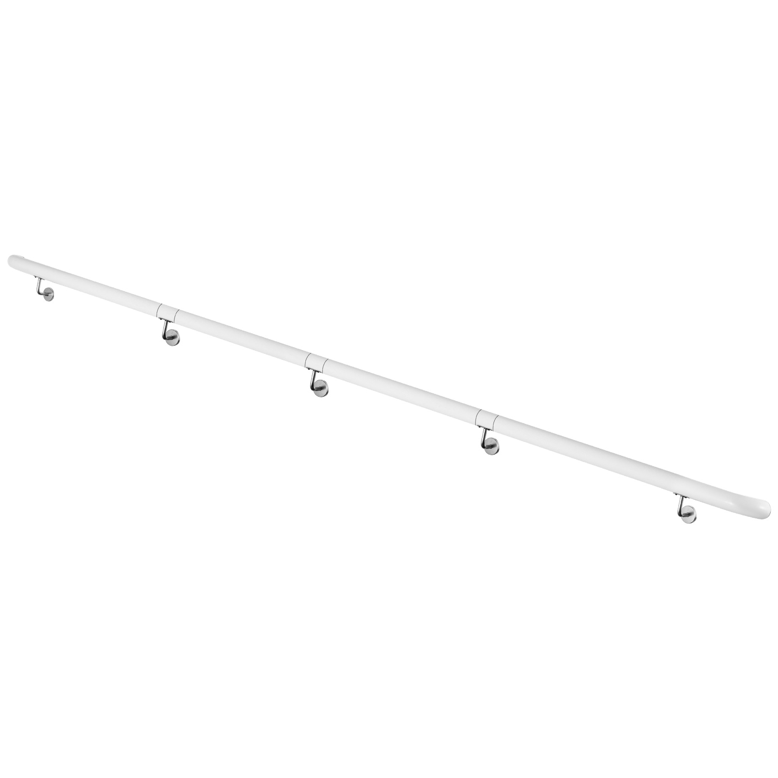 Stair-Handrail-Stair-Rail-Aluminum-Indoor-Handrail-for-Stairs-3-16-039-White-200lbs thumbnail 143