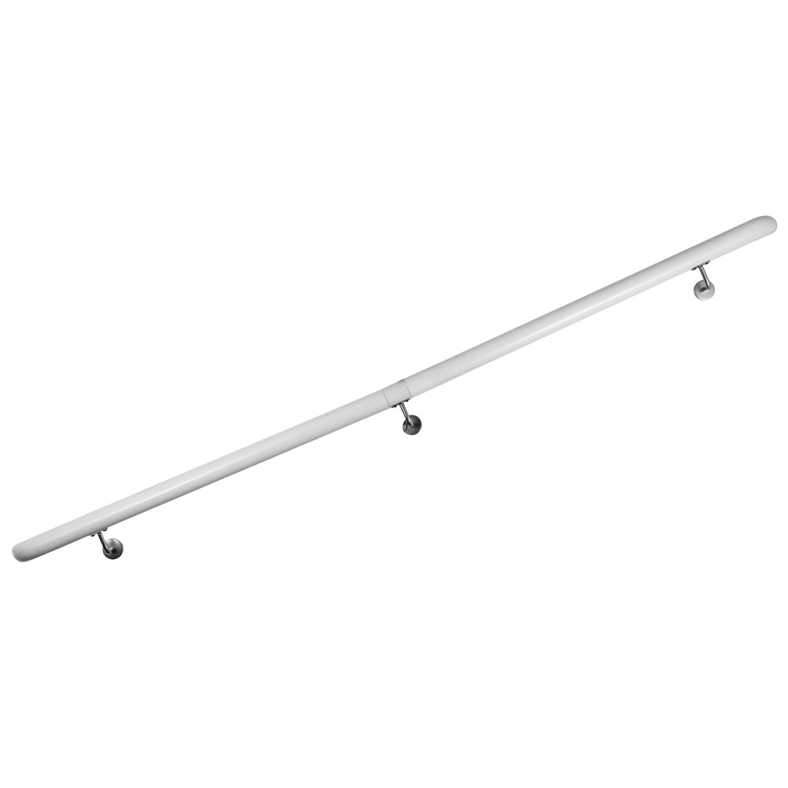 Stair-Handrail-Stair-Rail-Aluminum-Indoor-Handrail-for-Stairs-3-16-039-White-200lbs thumbnail 95