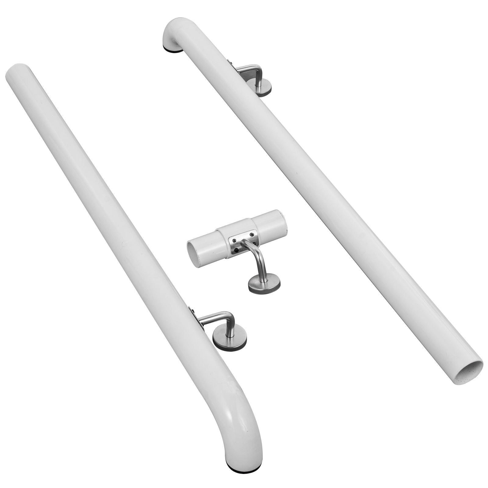 Stair-Handrail-Stair-Rail-Aluminum-Indoor-Handrail-for-Stairs-3-16-039-White-200lbs thumbnail 96