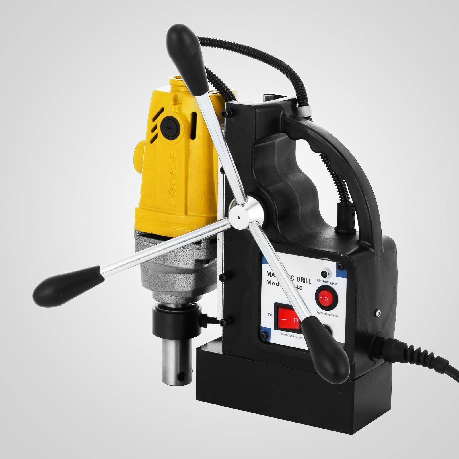 MB23-BRM35-MD40-Trapano-Perforatrice-Carotatore-Fresa-Magnetico-12-40mm-230V miniatura 16