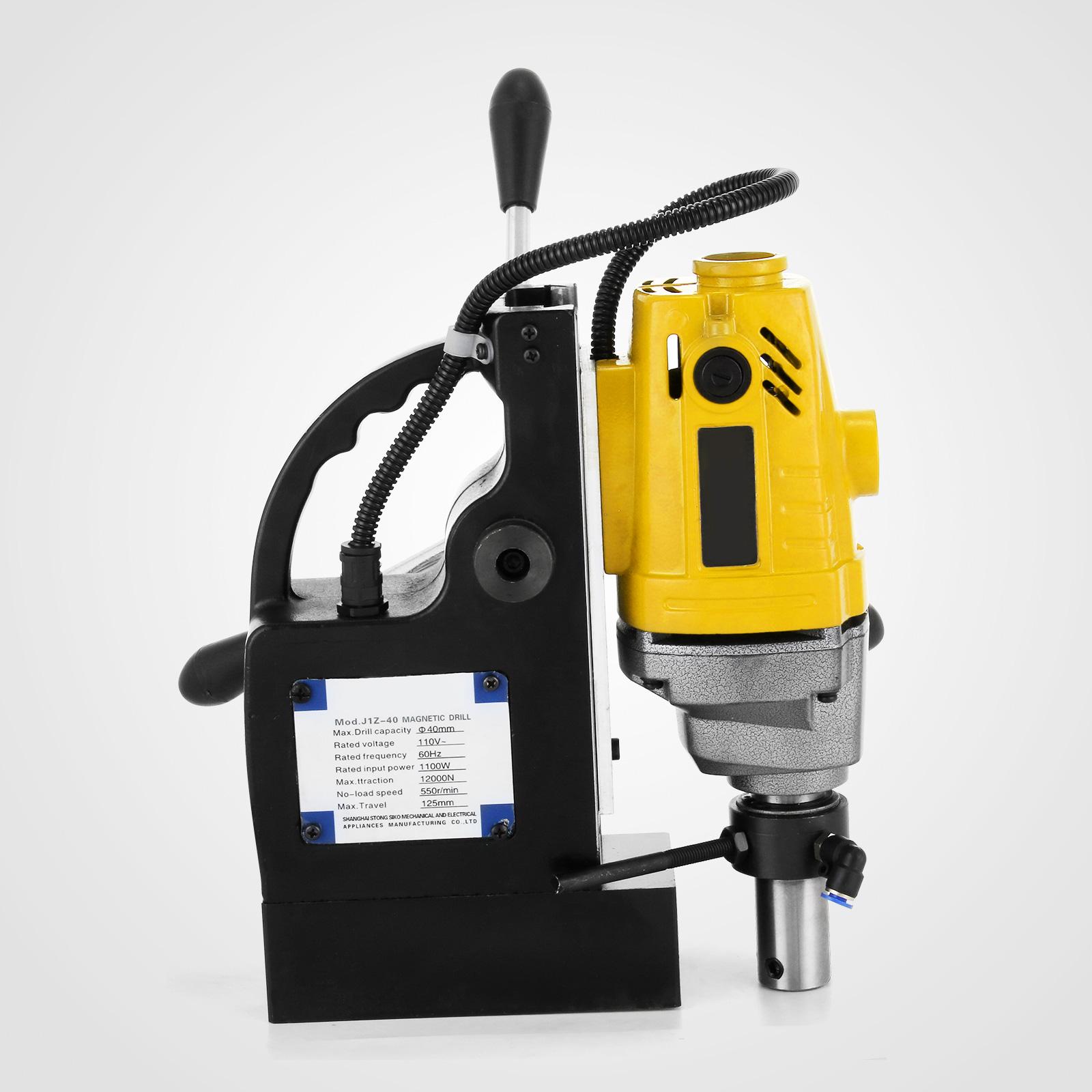 MB23-BRM35-MD40-Trapano-Perforatrice-Carotatore-Fresa-Magnetico-12-40mm-230V miniatura 18