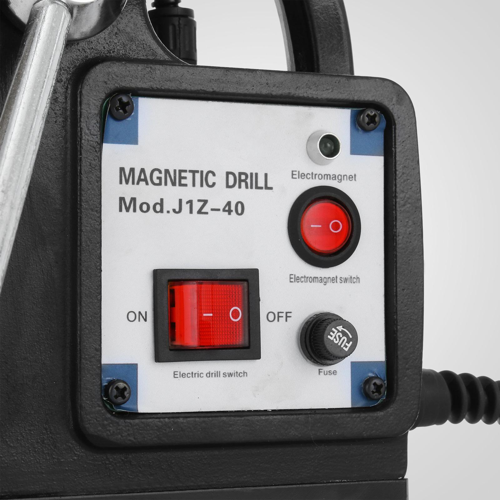 MB23-BRM35-MD40-Trapano-Perforatrice-Carotatore-Fresa-Magnetico-12-40mm-230V miniatura 21