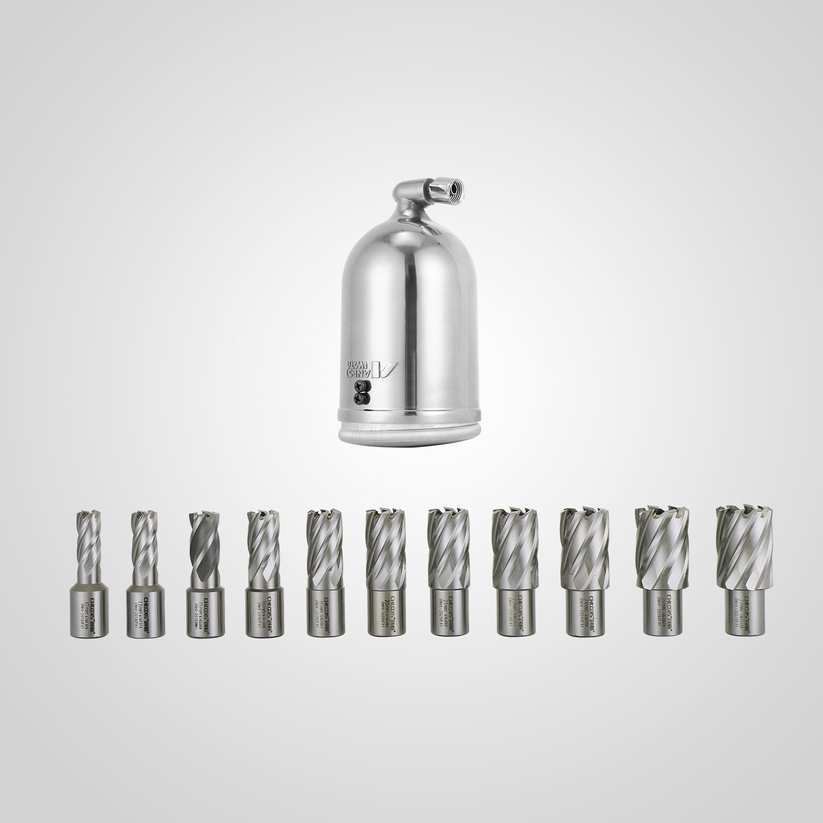 MB23-BRM35-MD40-Trapano-Perforatrice-Carotatore-Fresa-Magnetico-12-40mm-230V miniatura 48