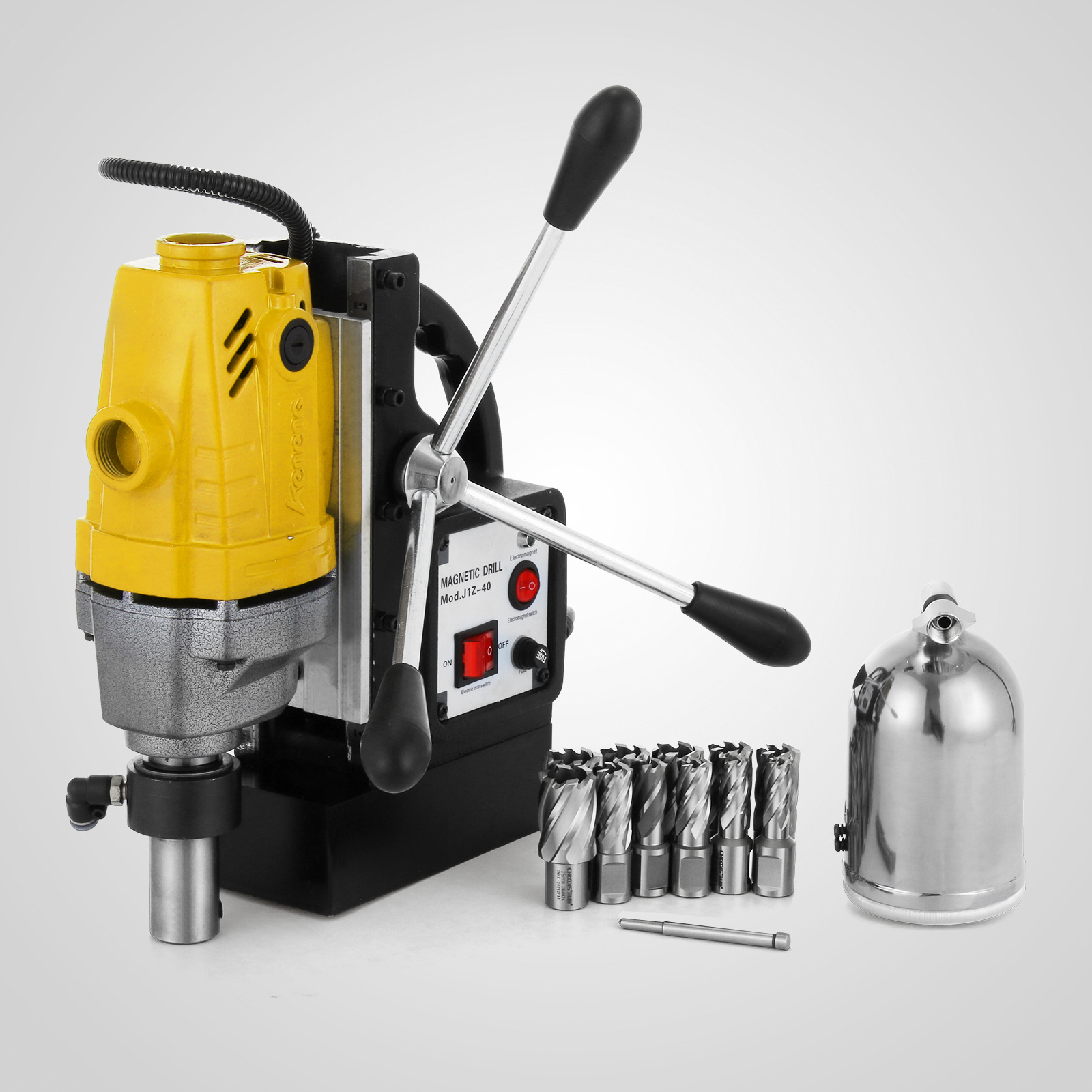 MB23-BRM35-MD40-Trapano-Perforatrice-Carotatore-Fresa-Magnetico-12-40mm-230V miniatura 39