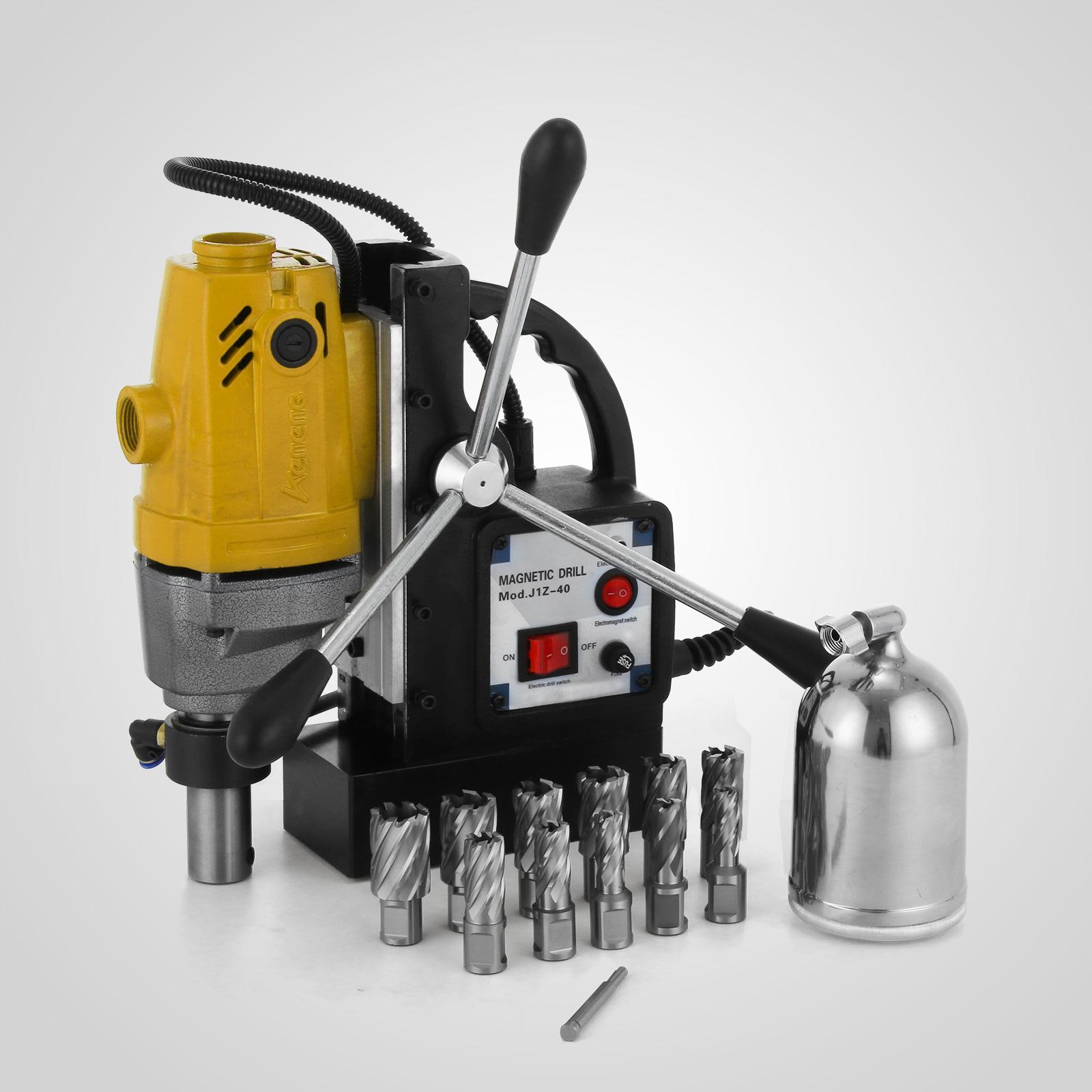 MB23-BRM35-MD40-Trapano-Perforatrice-Carotatore-Fresa-Magnetico-12-40mm-230V miniatura 40