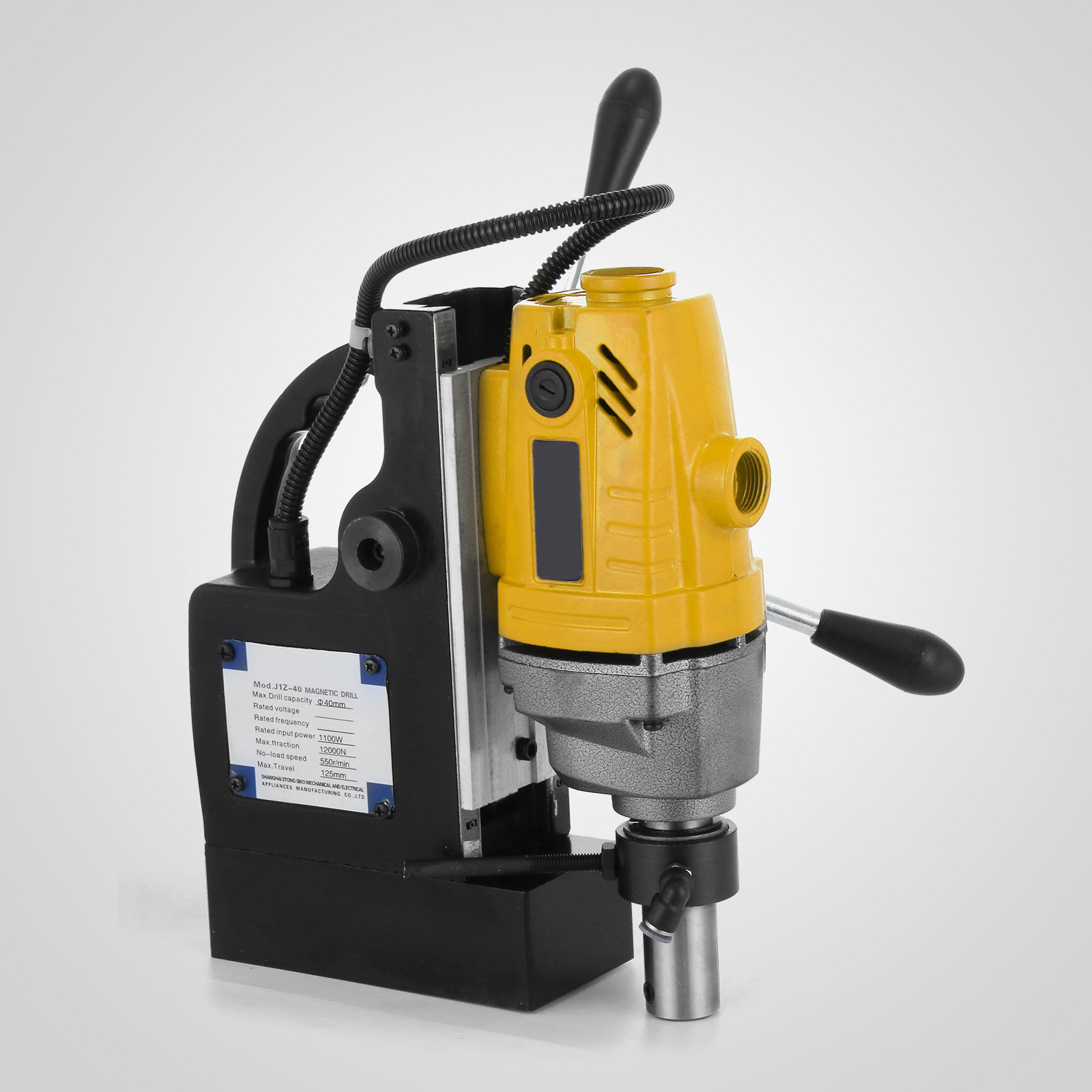 MB23-BRM35-MD40-Trapano-Perforatrice-Carotatore-Fresa-Magnetico-12-40mm-230V miniatura 41