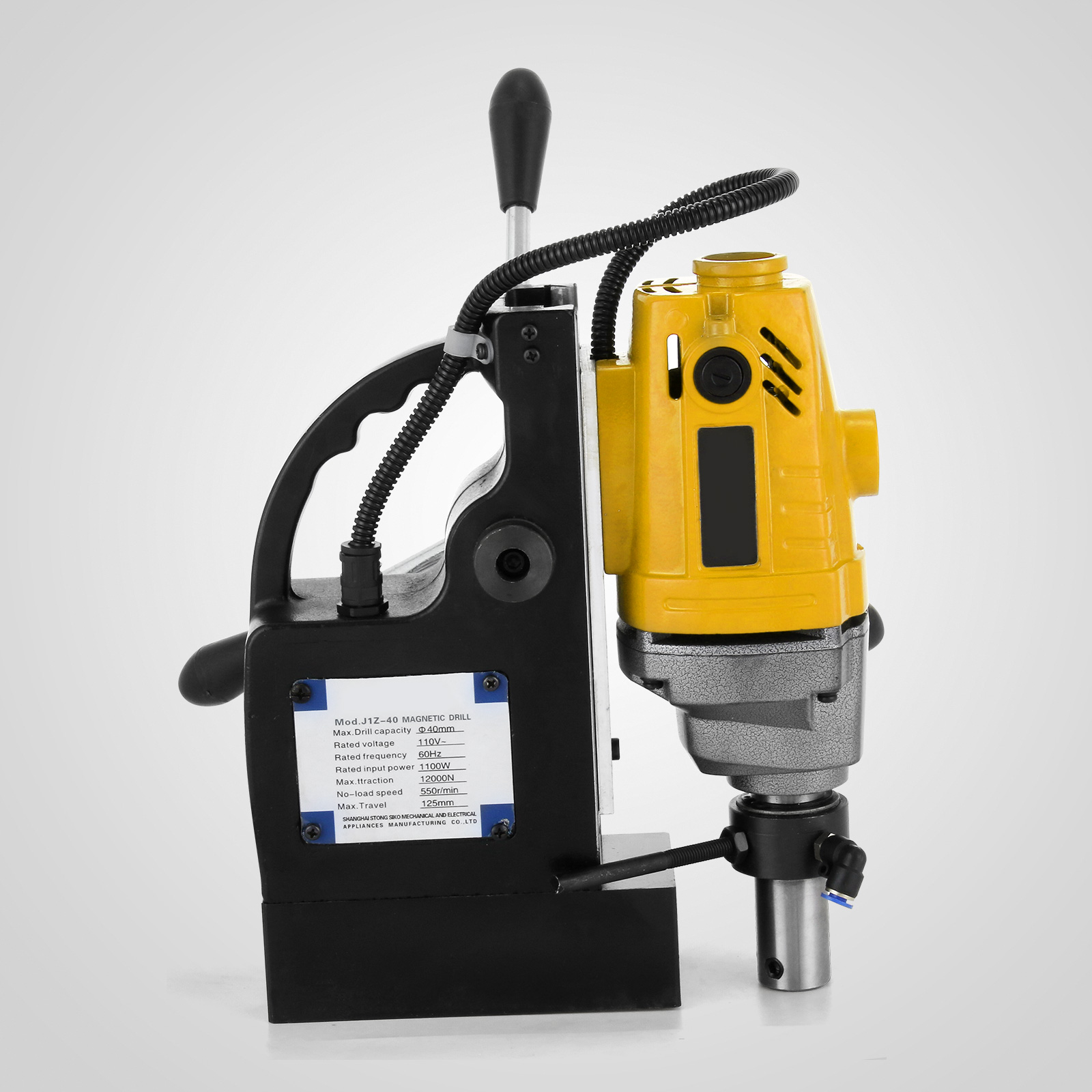 MB23-BRM35-MD40-Trapano-Perforatrice-Carotatore-Fresa-Magnetico-12-40mm-230V miniatura 42