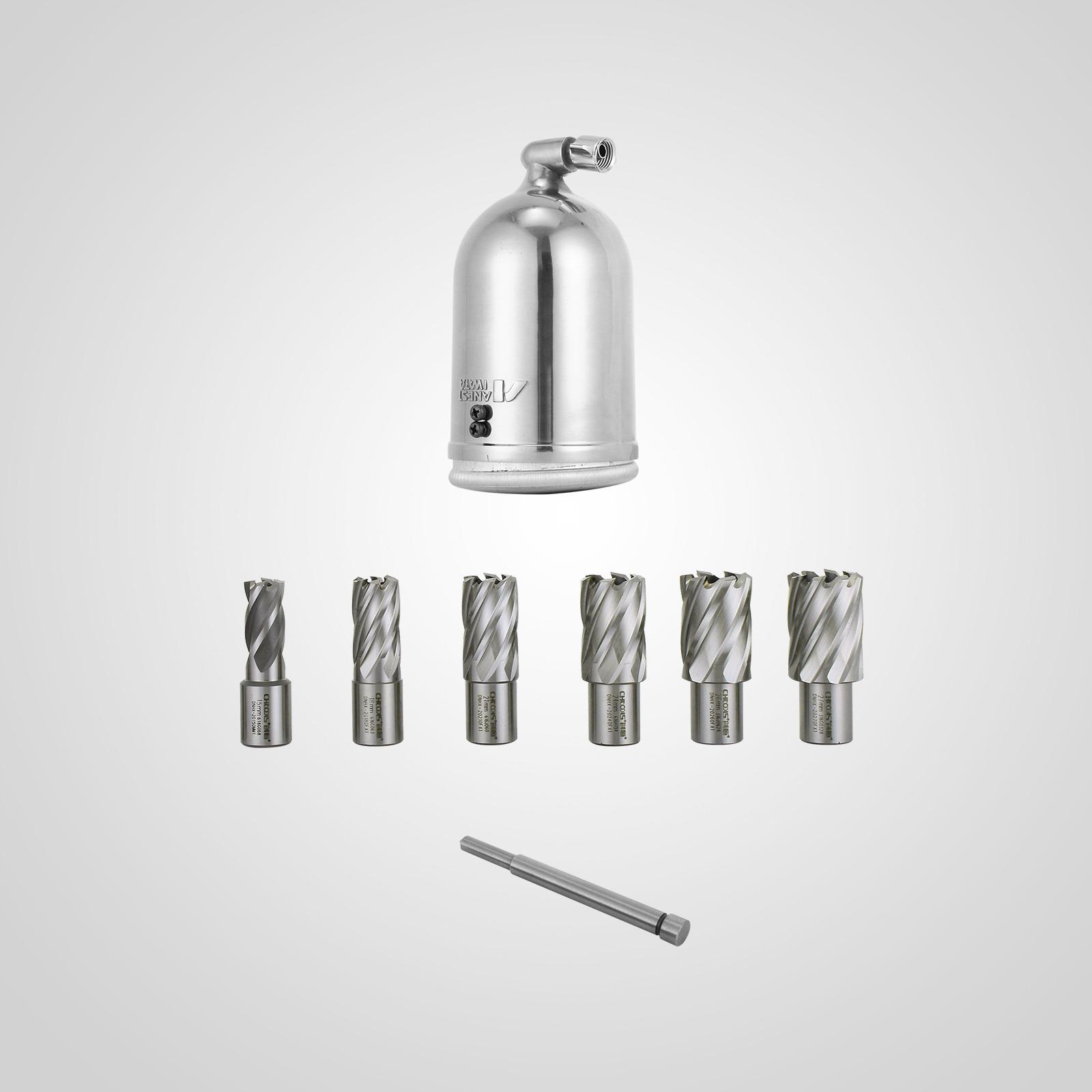 MB23-BRM35-MD40-Trapano-Perforatrice-Carotatore-Fresa-Magnetico-12-40mm-230V miniatura 36
