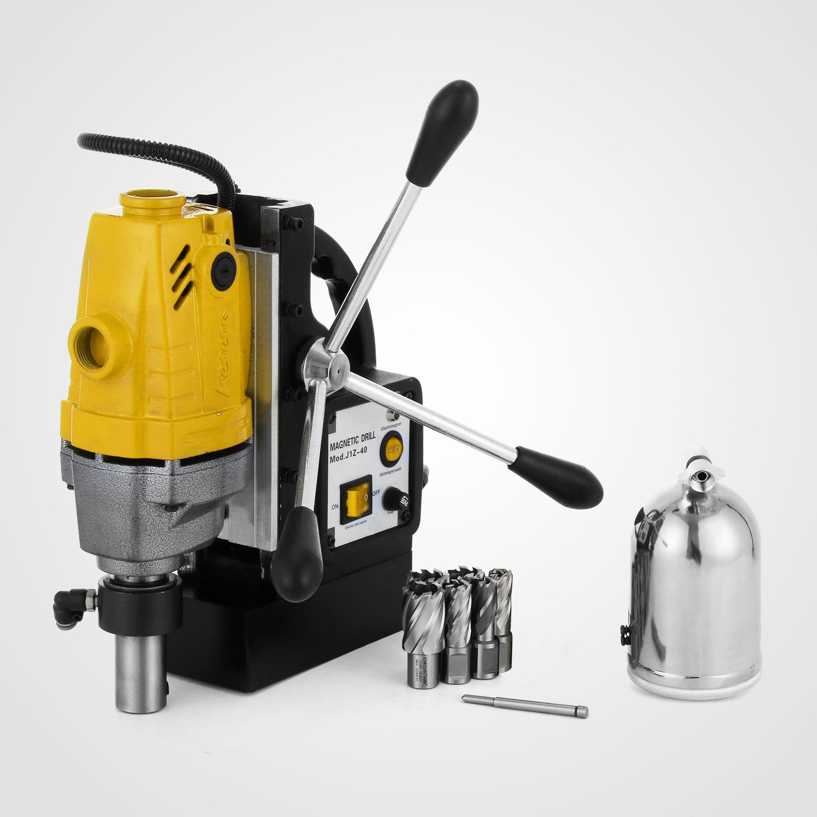 MB23-BRM35-MD40-Trapano-Perforatrice-Carotatore-Fresa-Magnetico-12-40mm-230V miniatura 27