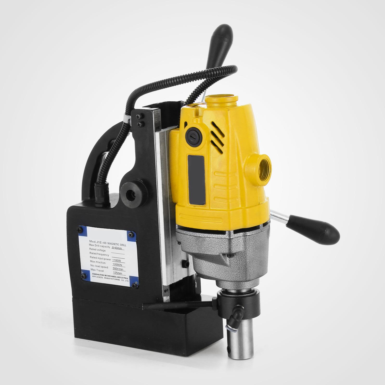 MB23-BRM35-MD40-Trapano-Perforatrice-Carotatore-Fresa-Magnetico-12-40mm-230V miniatura 29