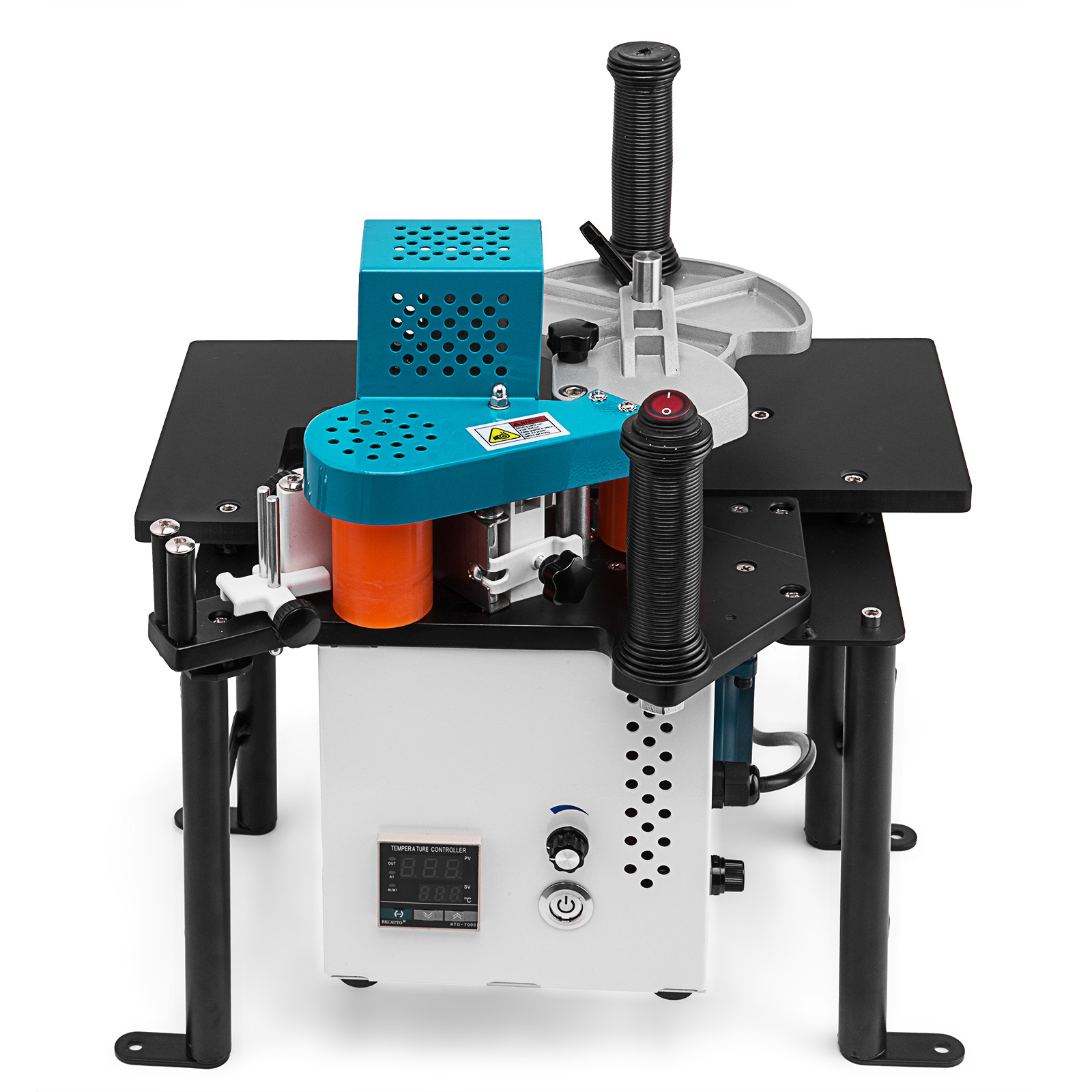 Details about Woodworking Portable Edge Banding Machine 0 3-3mm Thick Wood  Working 15W Motor
