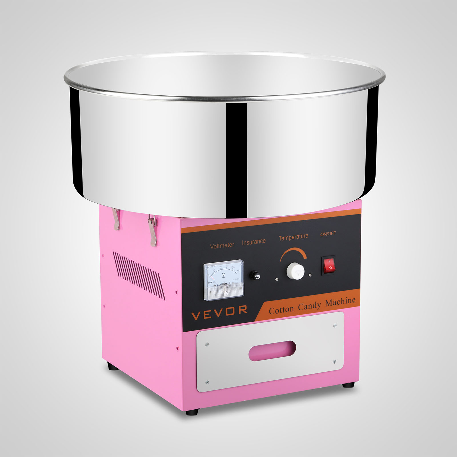 NEW Electric Cotton Candy Machine Pink Floss Carnival ...