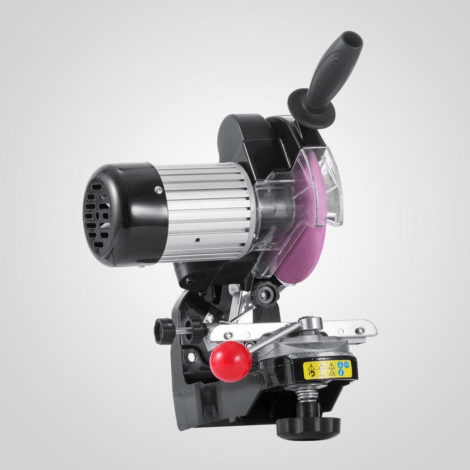 Chainsaw Sharpener Grinder W Grinding Wheels Electric 1 8
