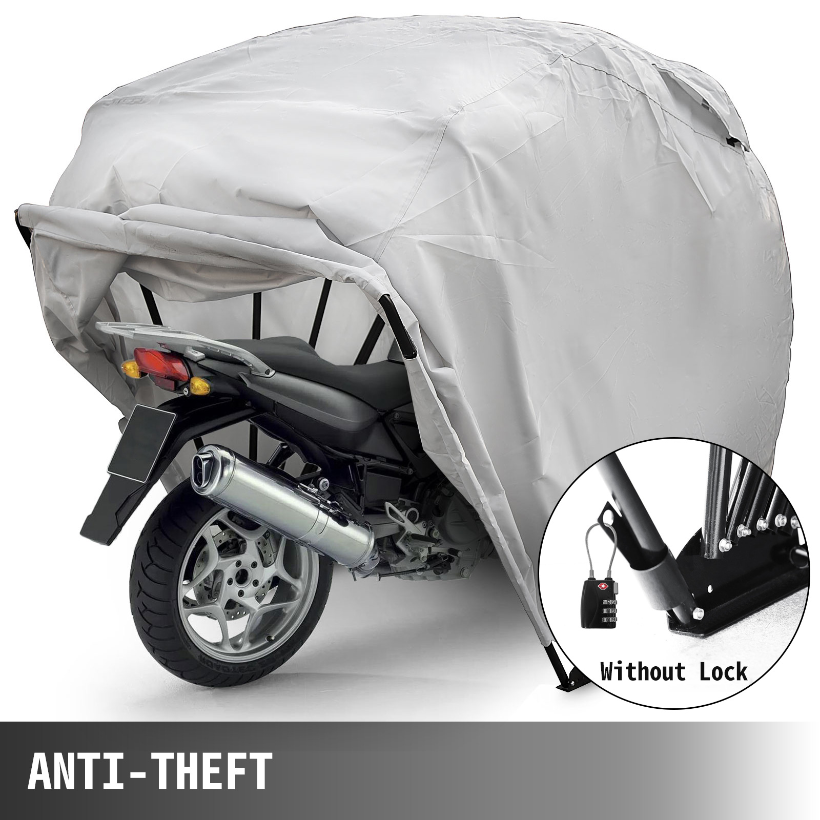 Motorcycle Shelter Storage Cover Tent