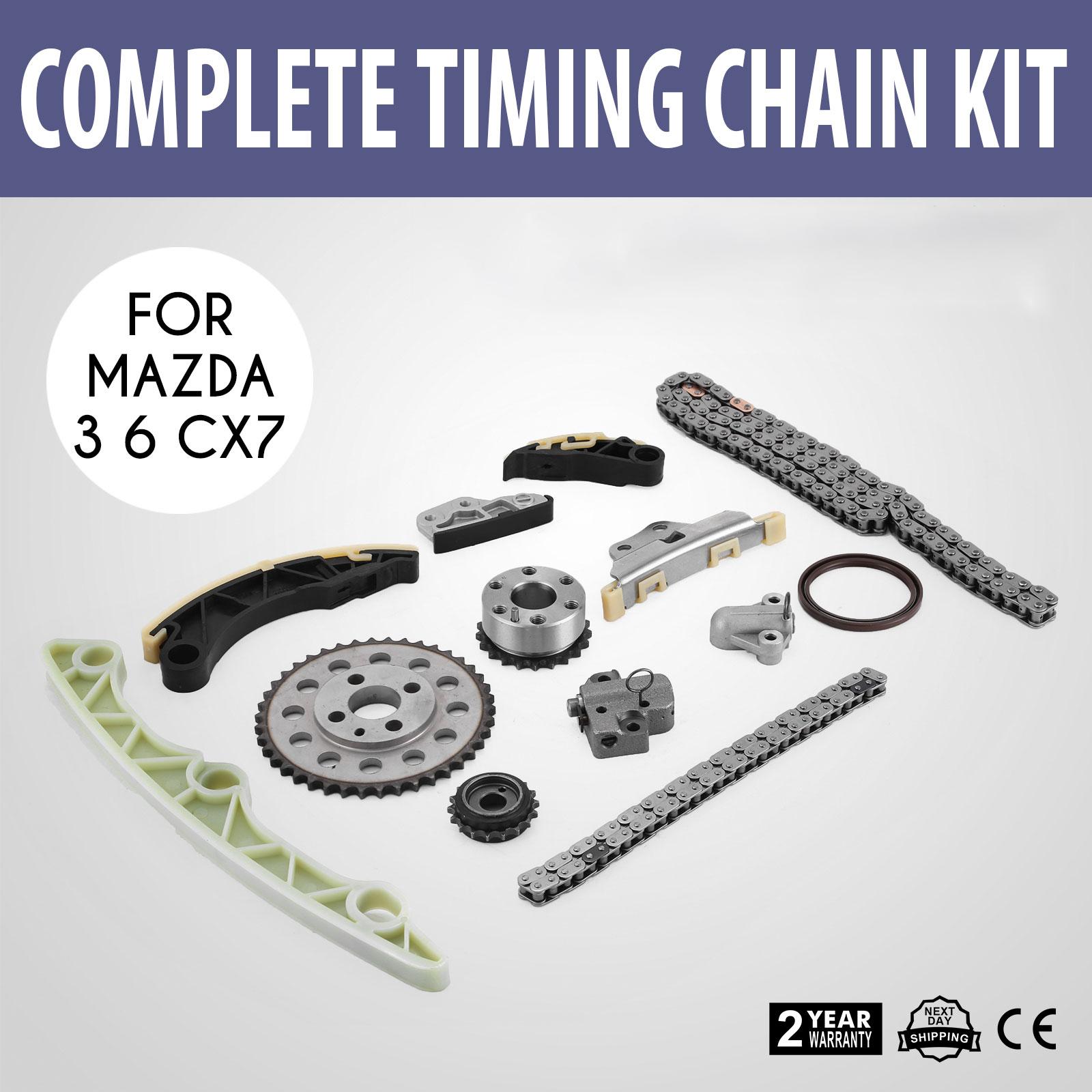 timing chain kit for 2009 2013 mazda 3 6 cx7 2 2 diesel timing chane mazda cx7  #12