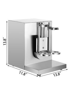 shaking tea machine,double cup,120W