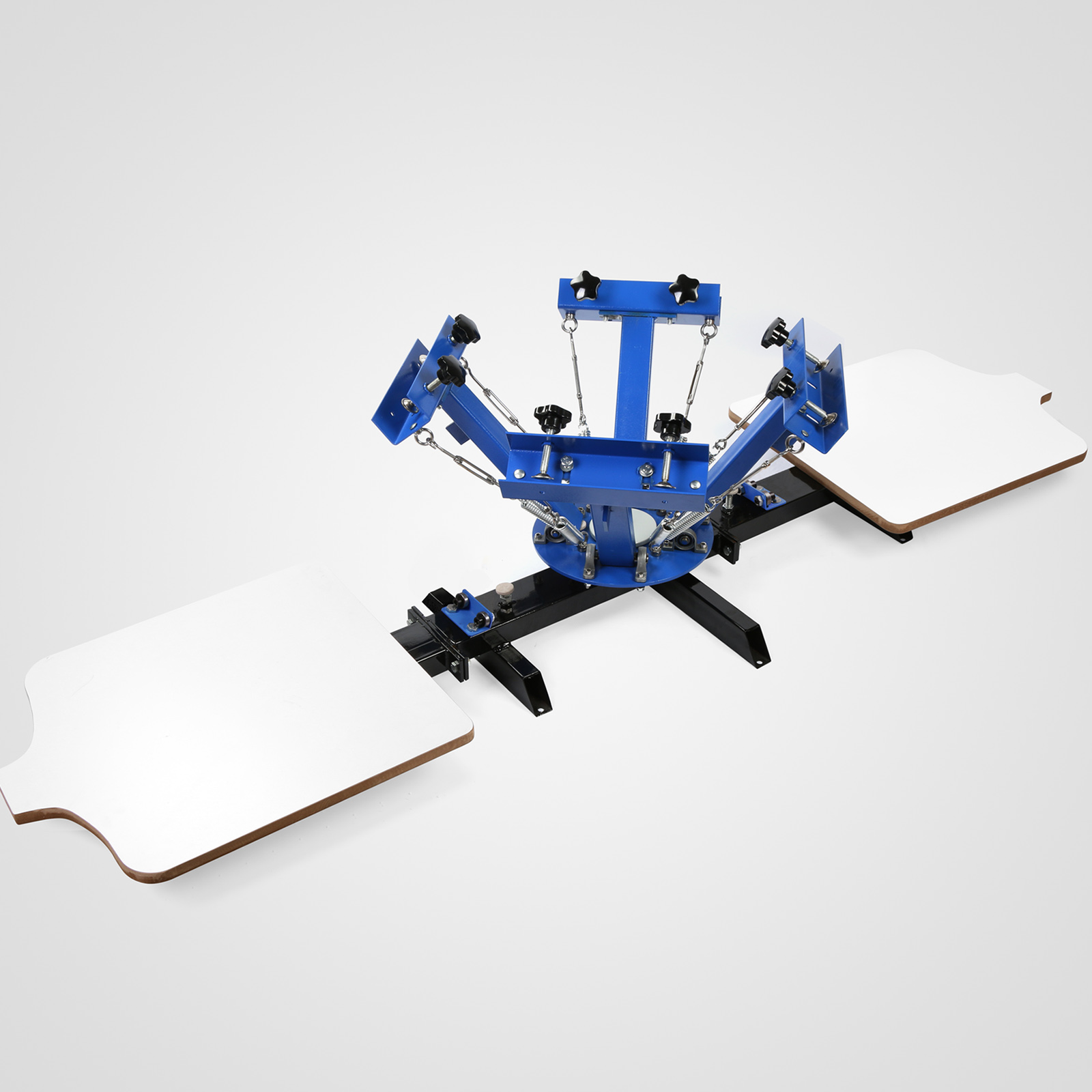 133c1054 Details about 4 Color 2 Station Silk Screen Printing Machine T-Shirt  Printer Printing POPULAR