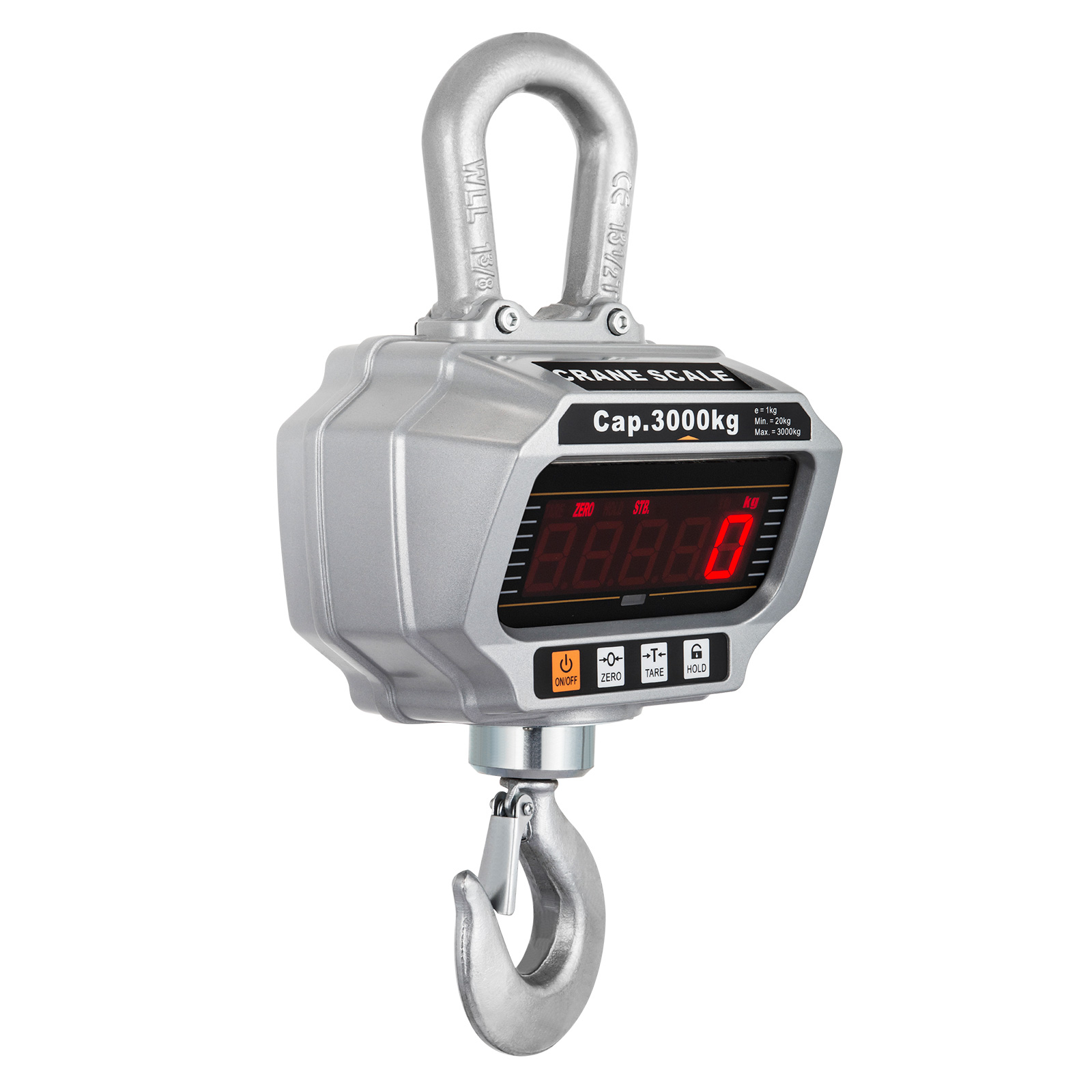 thumbnail 27 - 1T/3T/5T Digital Crane Scales Hanging Scale Electronic Scales Accurate Sensitive