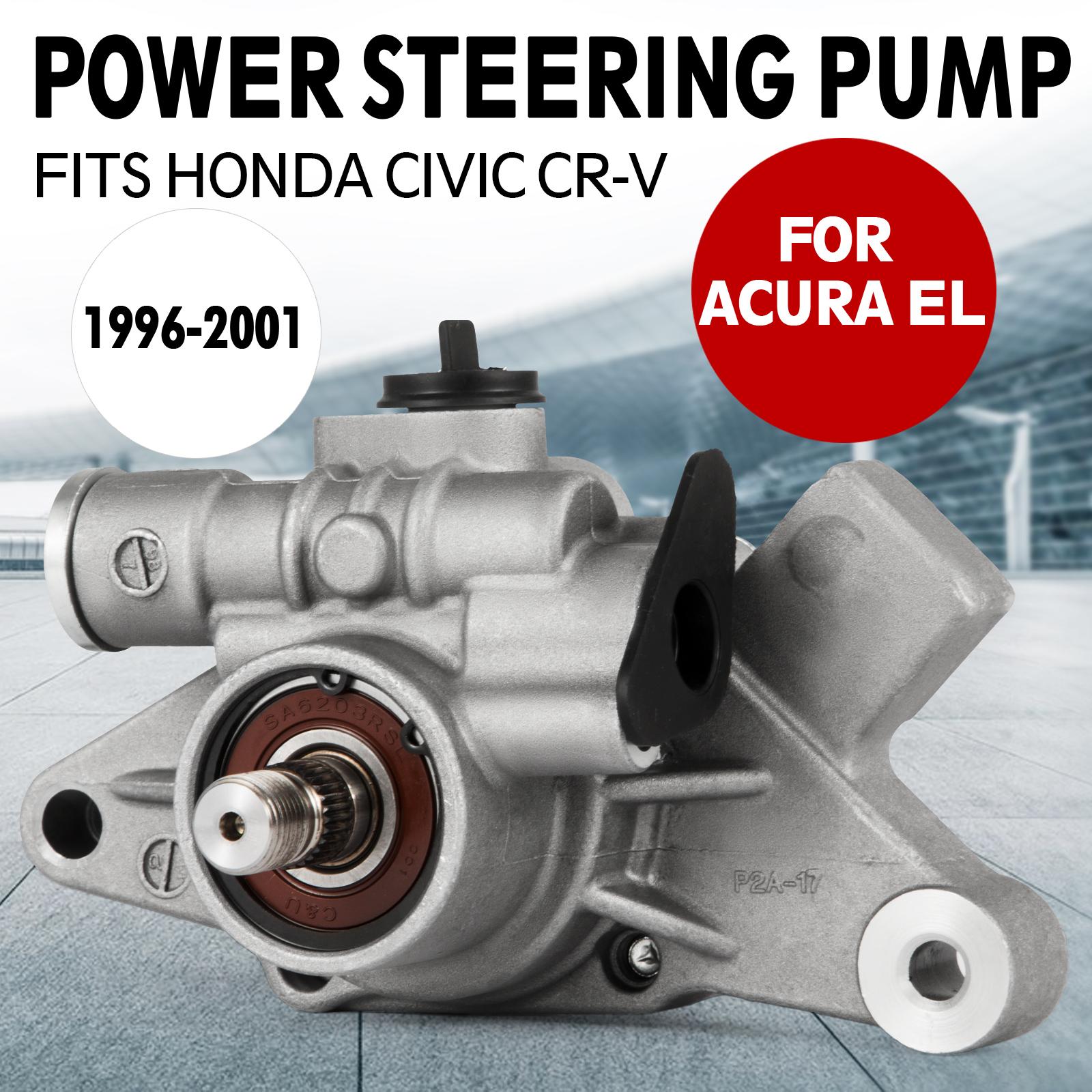 Power Steering Pump for 96-01 Honda Civic Acura CR-V EL Sedan Engine