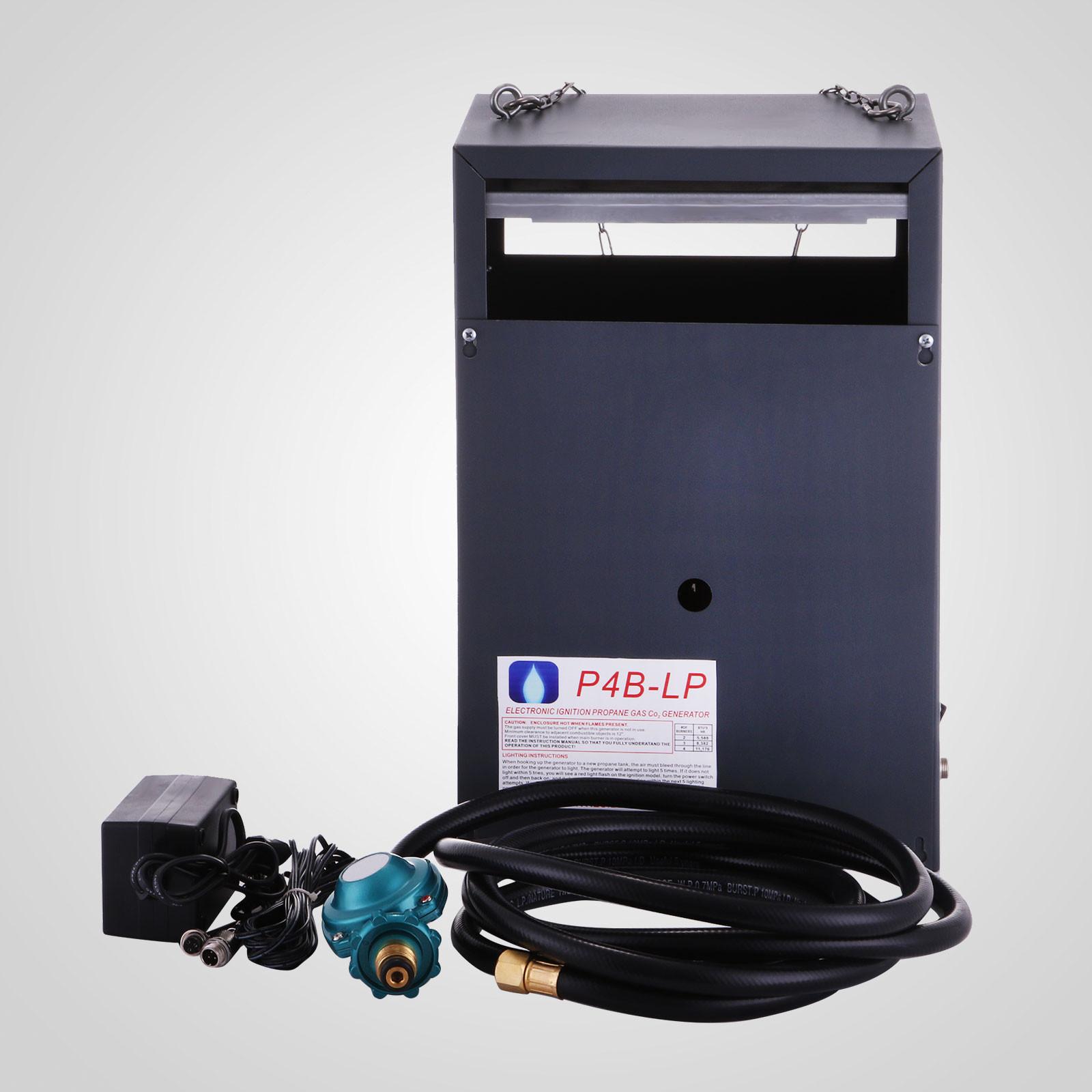 New Hydroponic CO2 Generator 4 Burner Auto Piloting LP Gas