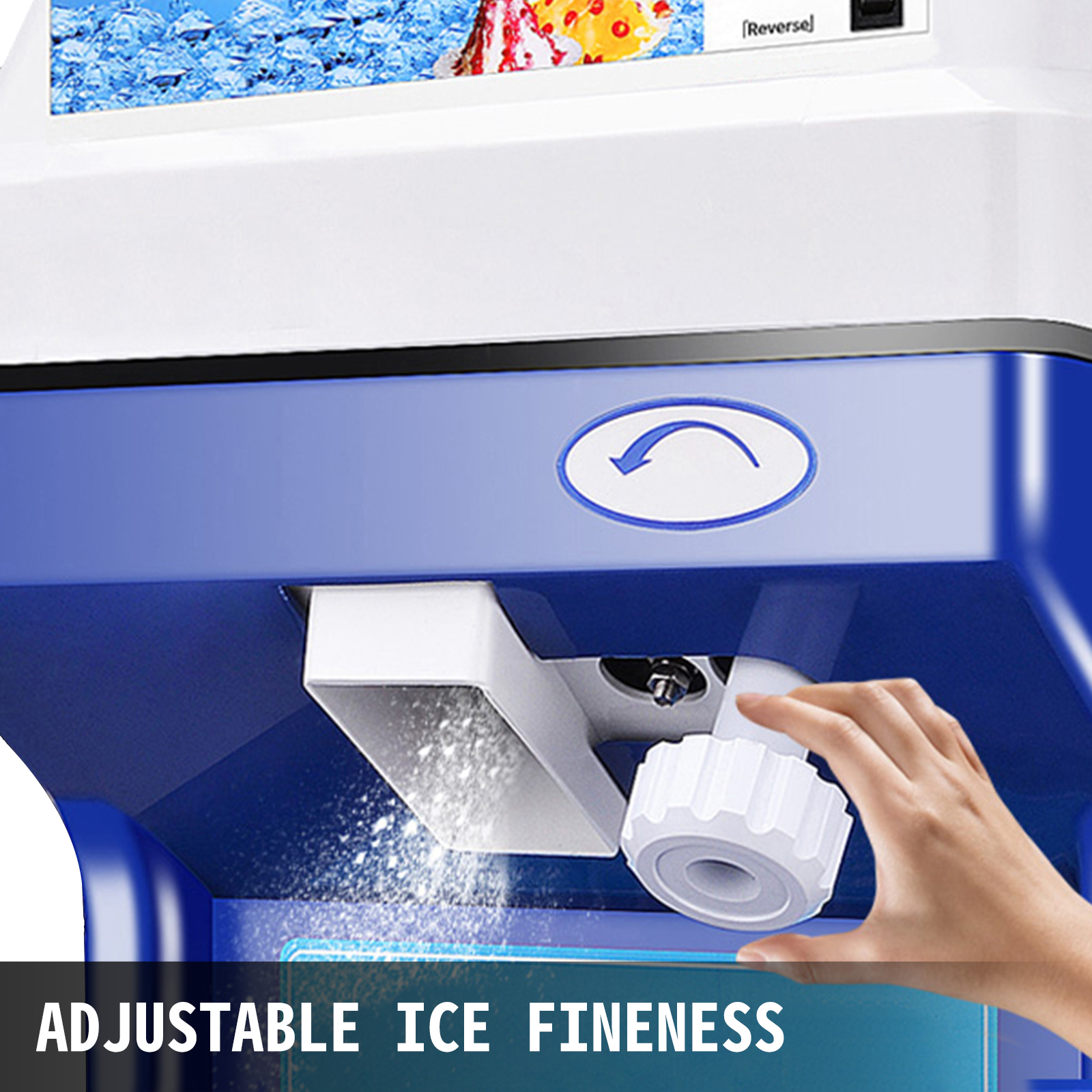 miniature 101 - Commercial Ice Shaver Electric Snow Cone Machine Commercial Blender Ice Crushers