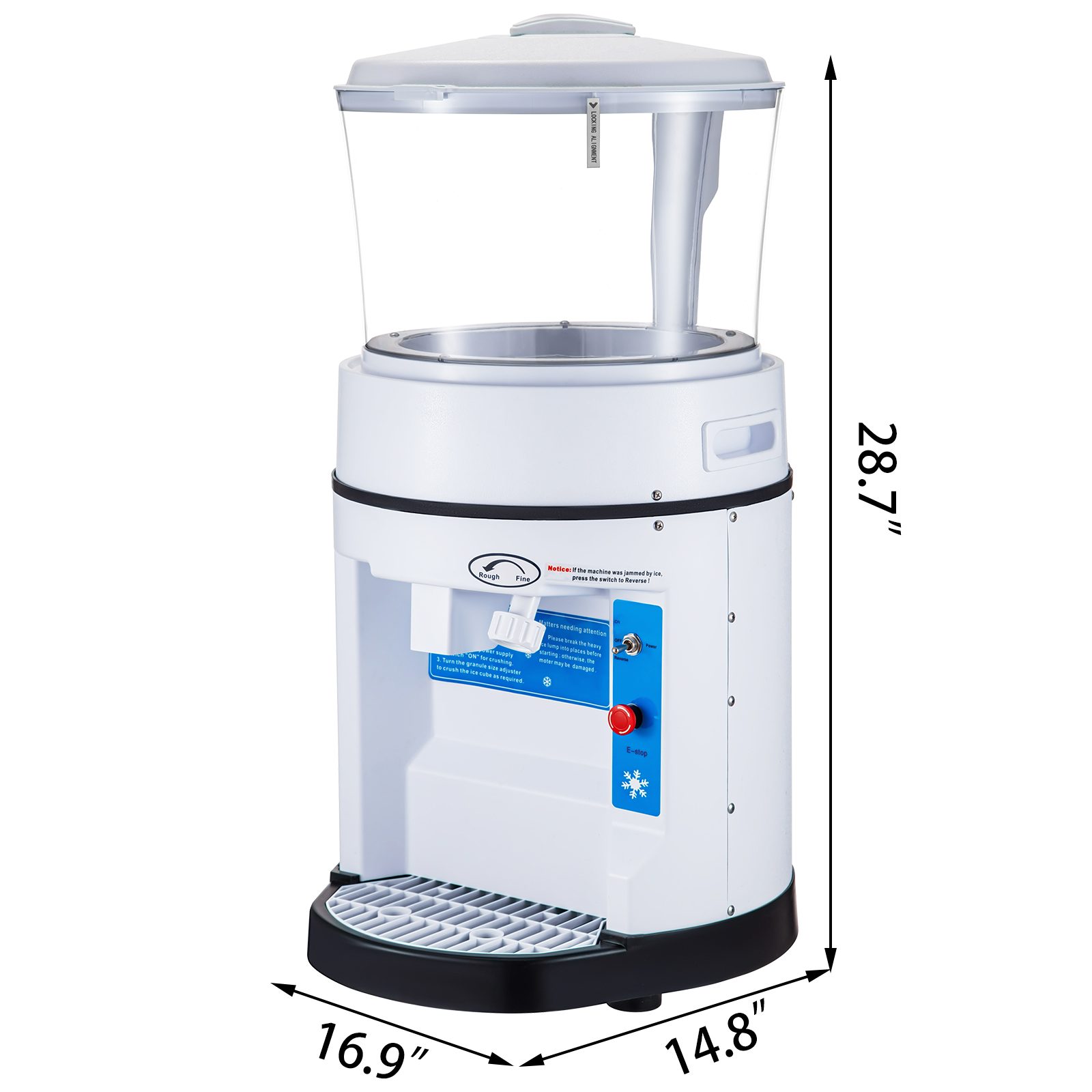 miniature 116 - Commercial Ice Shaver Electric Snow Cone Machine Commercial Blender Ice Crushers
