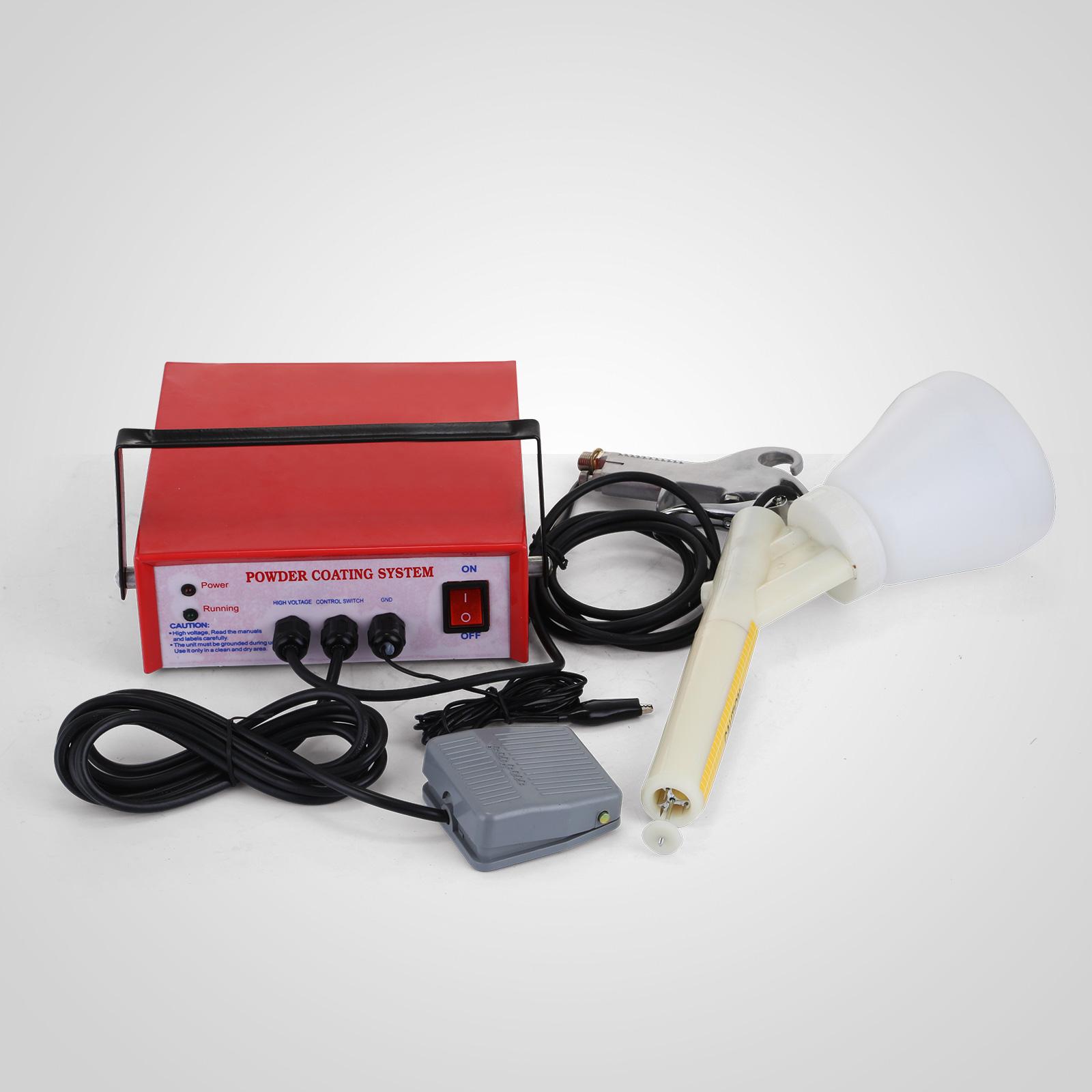 Portable Electrostatic Powder Coating Machine System Pc03