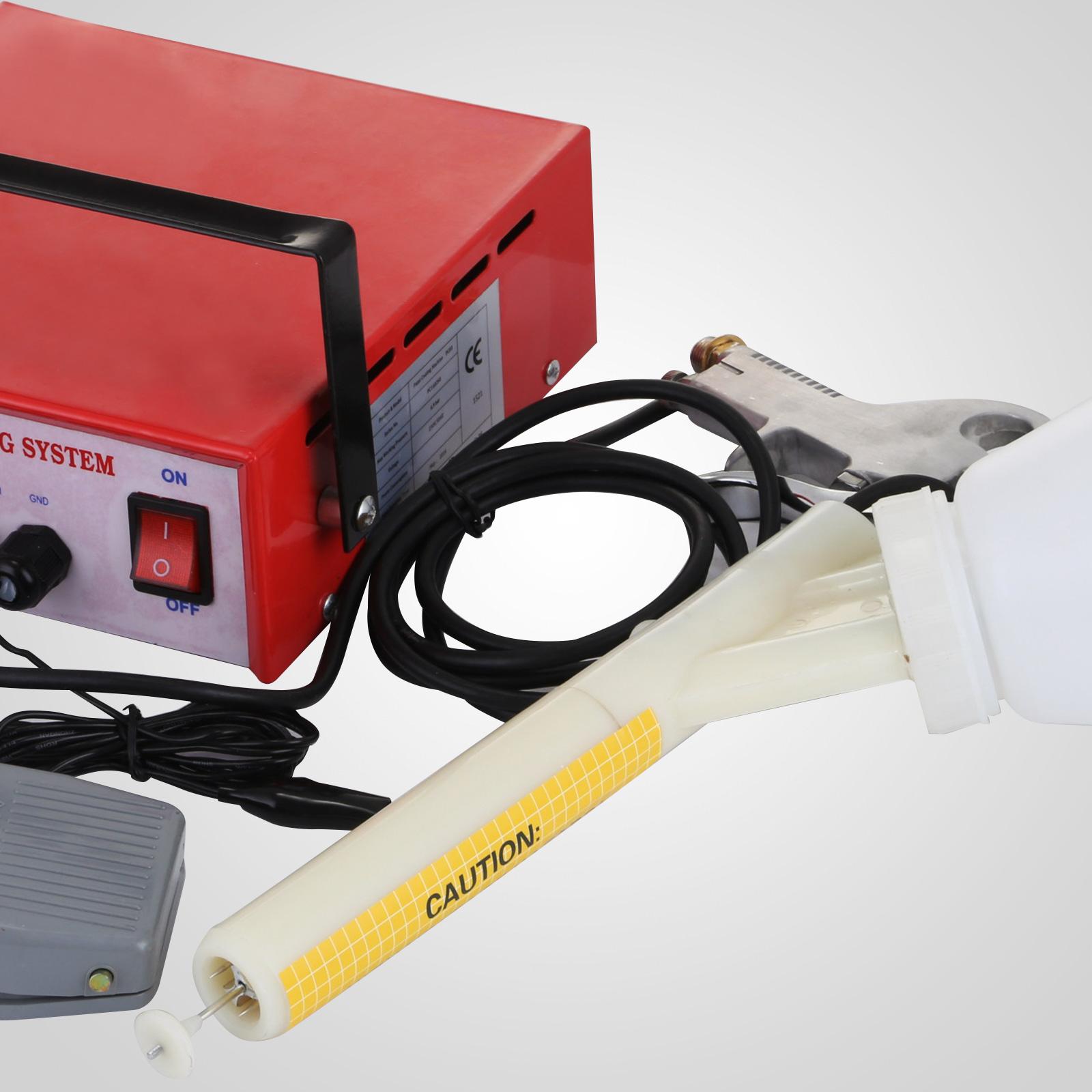 Electrostatic Powder Coating System Paint Spray Gun House