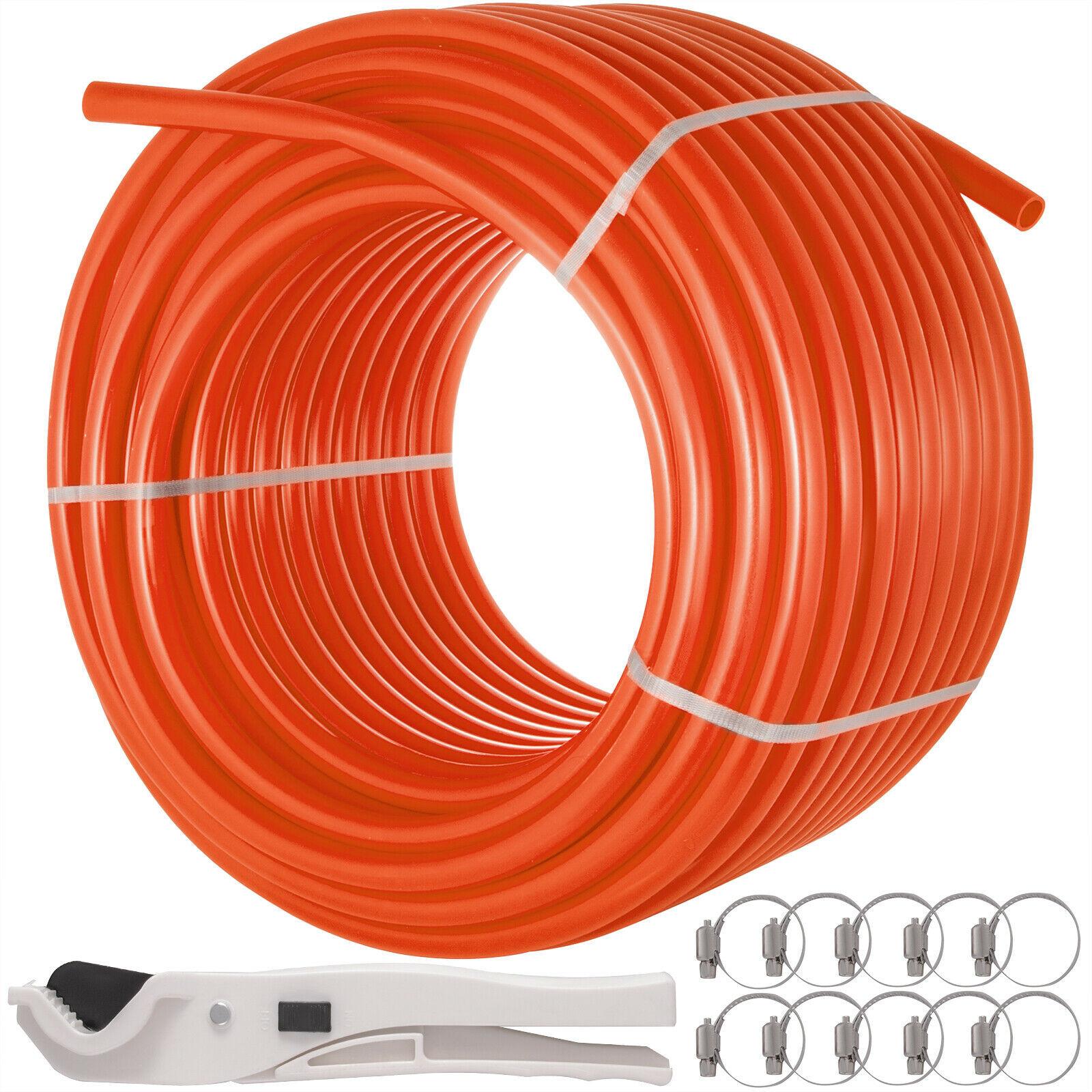 "3//4/"" x 500ft Pex Tubing Oxygen Barrier O2 EVOH Red 500ft Radiant Floor Heat"